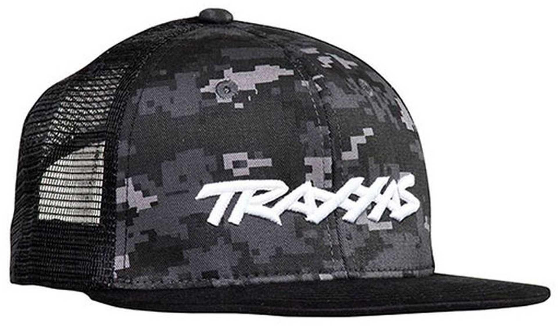 """Netz-Kappe """"Traxxas"""" Logo Camouflage"""