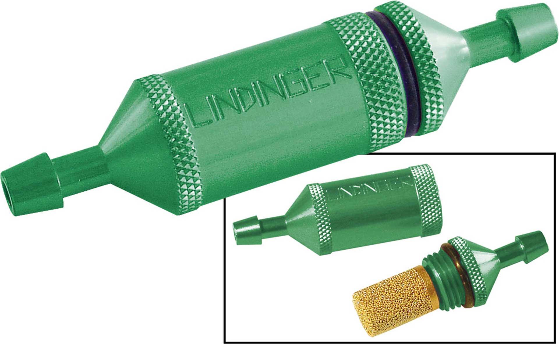 PLANET-HOBBY FUEL FILTER LINDINGER PROFI WITH SINTERED METAL INSERT