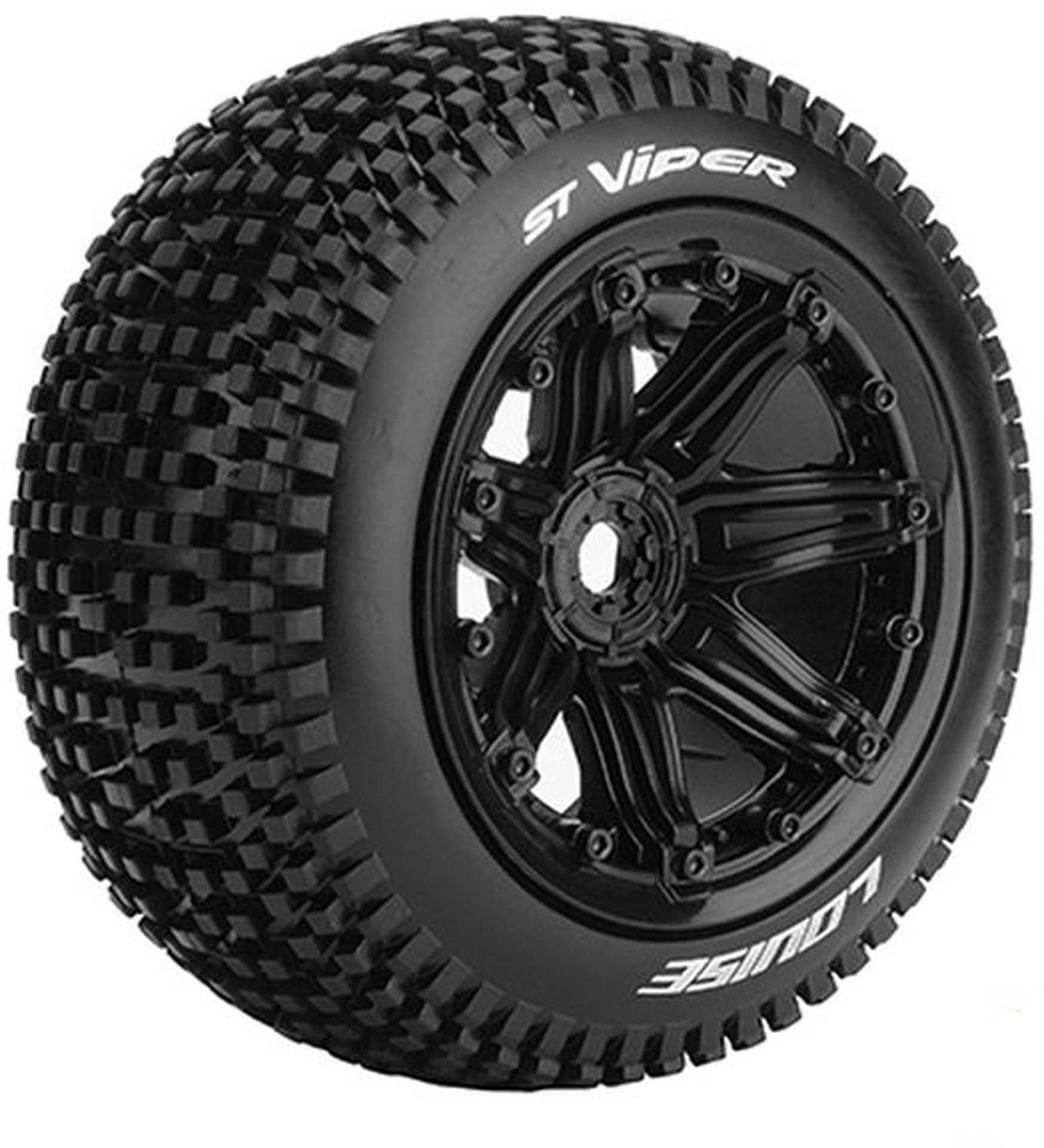 LOUISE ST-VIPER Sport-Compound Reifen Set 2Stk. 1/8 17mm