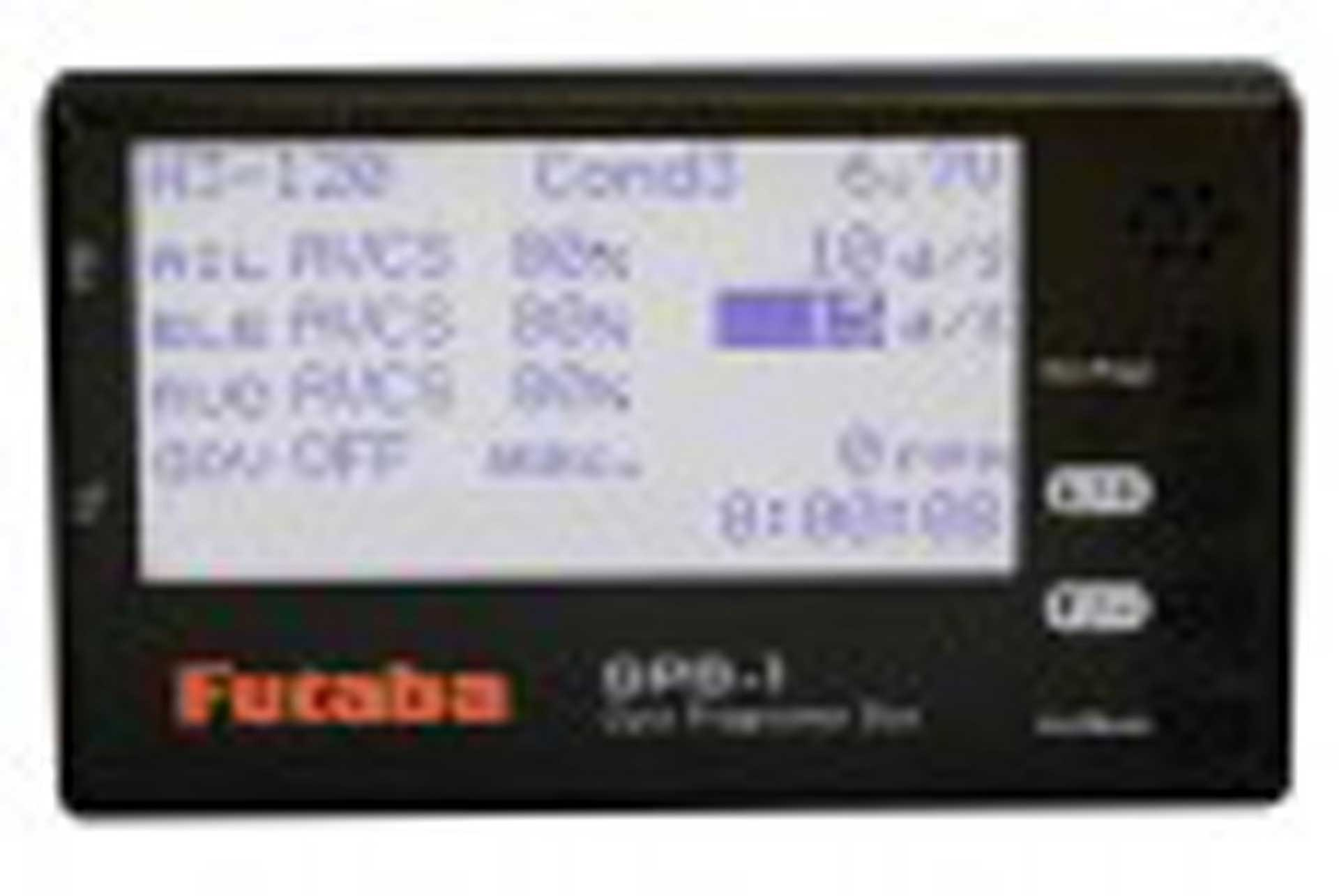 FUTABA CGY760R 3-AXIS GYRO WITH RECEIVER AND GOVERNOR (WITHOUT PROGRAMMING BOX)