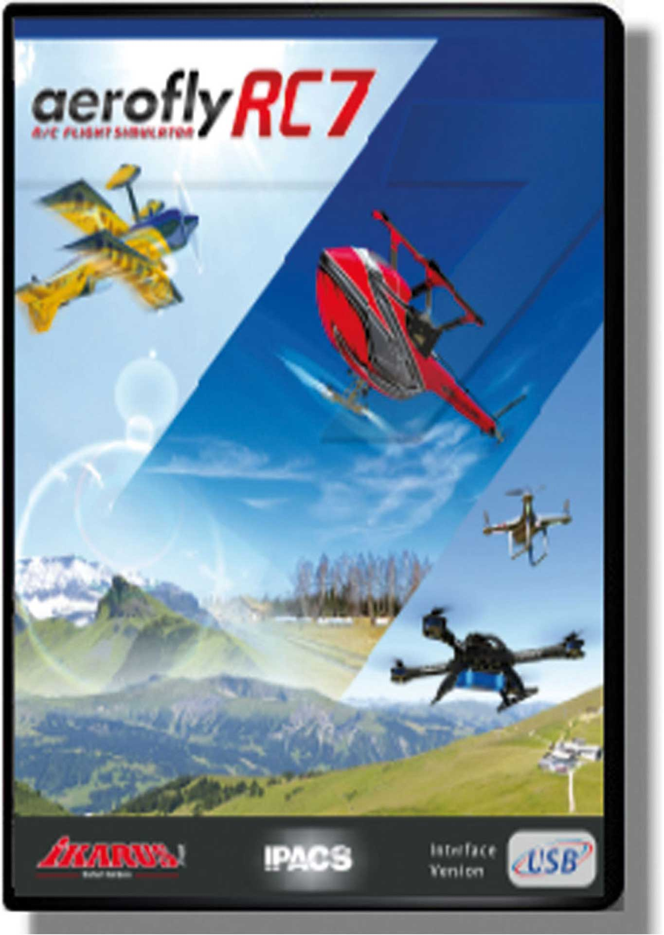 IKARUS AEROFLY RC7 PROFESSIONAL DVD FÜR WINDOWS