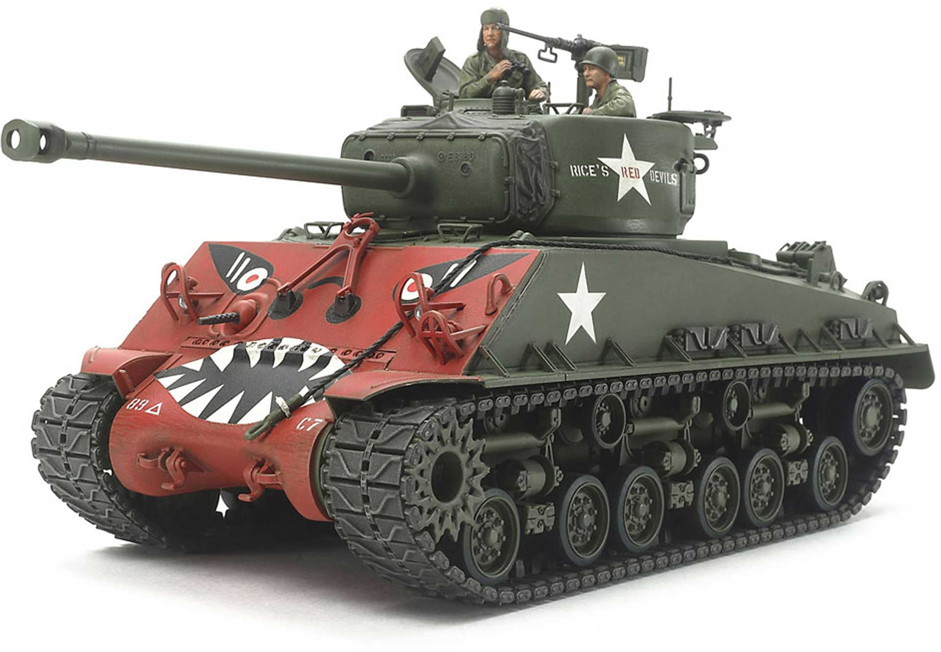 TAMIYA 1:35 US M4A3E8 SHERMAN EASY EIGHT KOREAN PLASTIC CONSTRUCTION KIT