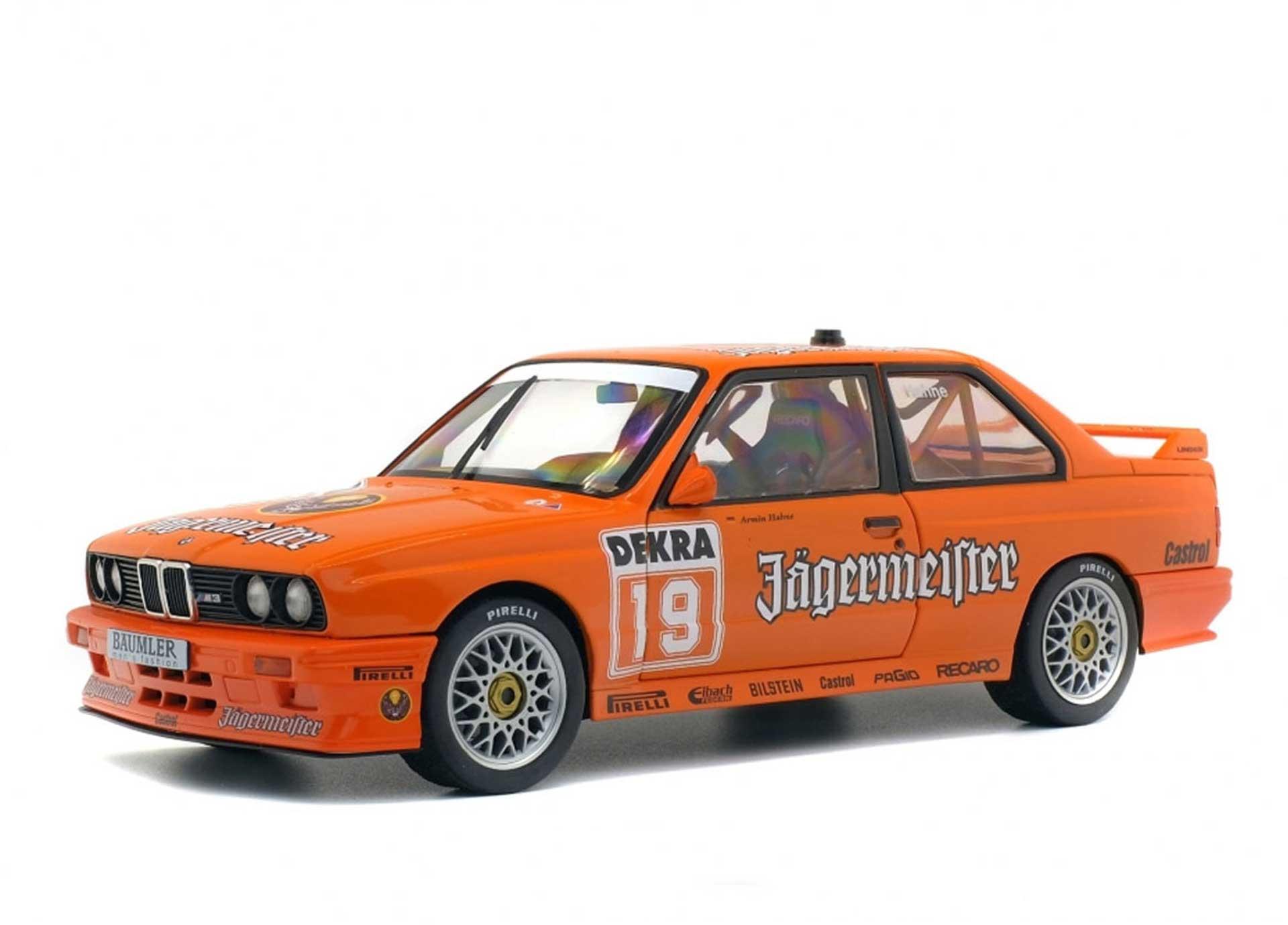 SOLIDO 1:18 BMW E30 DTM #19, 1992