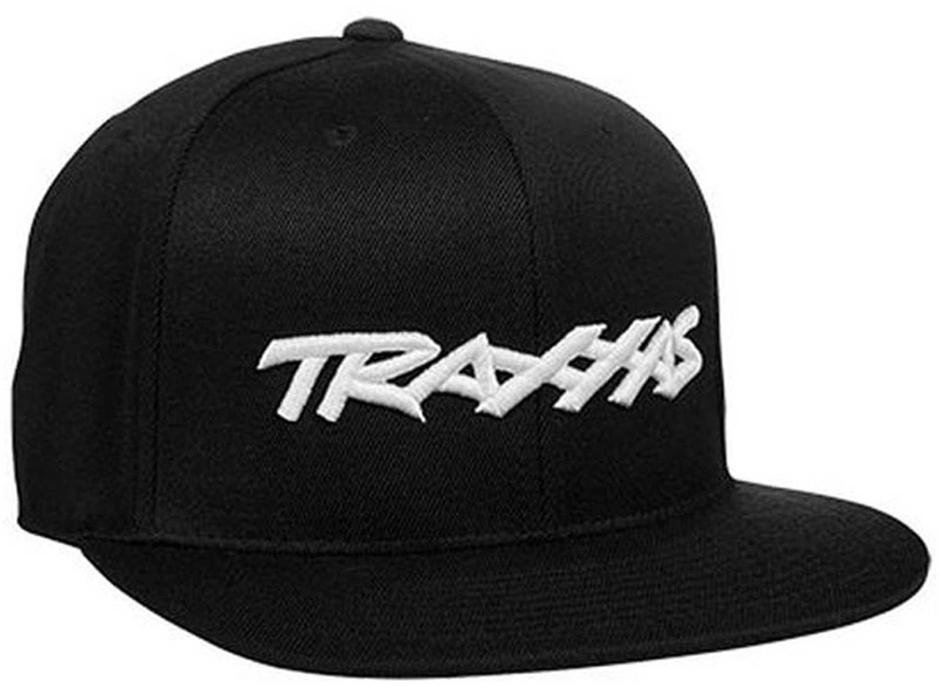 """Snap Kappe """"Traxxas"""" Logo Schwarz"""