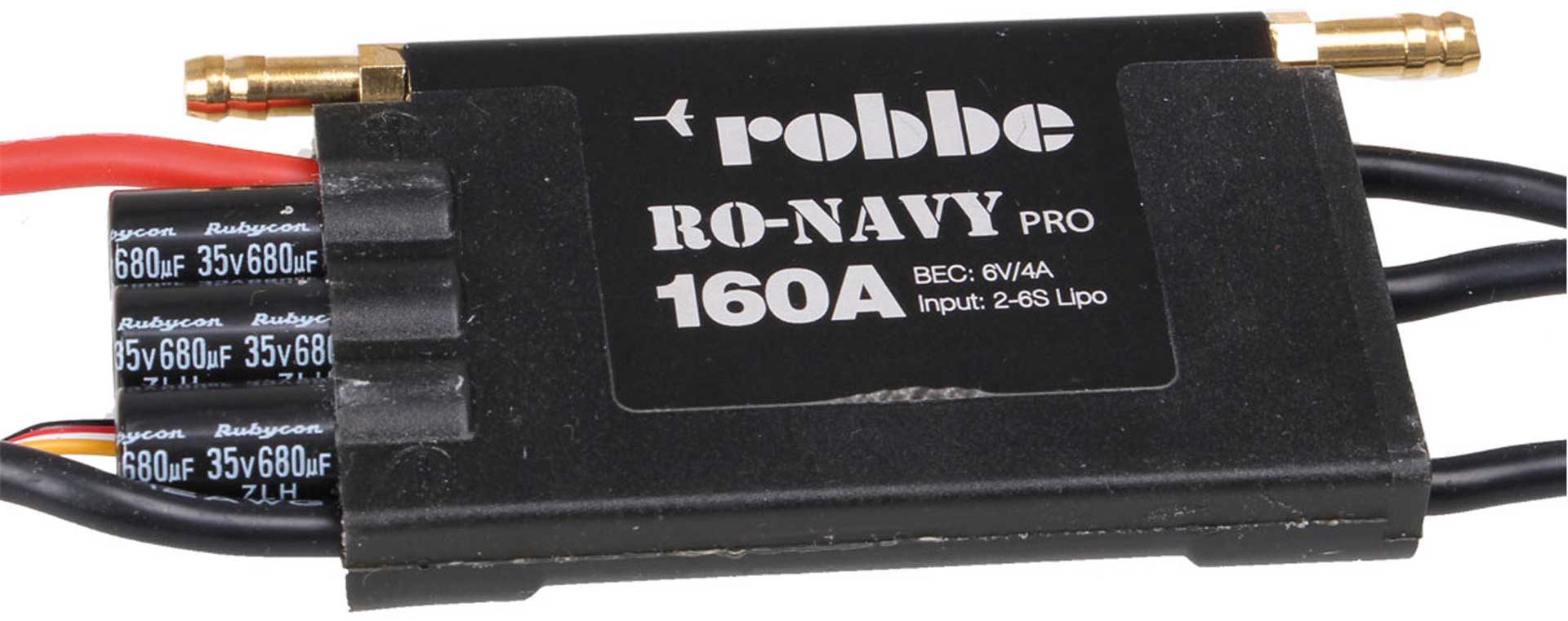 Robbe Modellsport RO-CONTROL NAVY PRO 6-160 2-6S -160A BEC