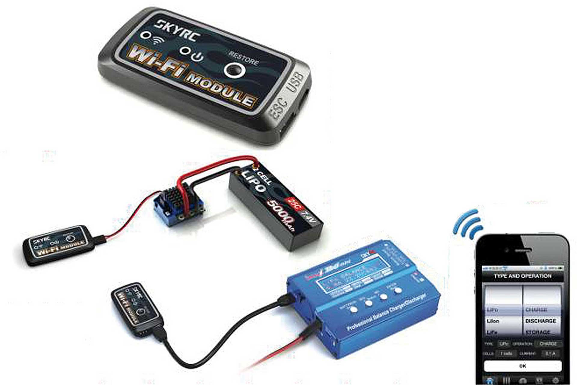 SKYRC WIFI MODULE FOR CHARGER D100
