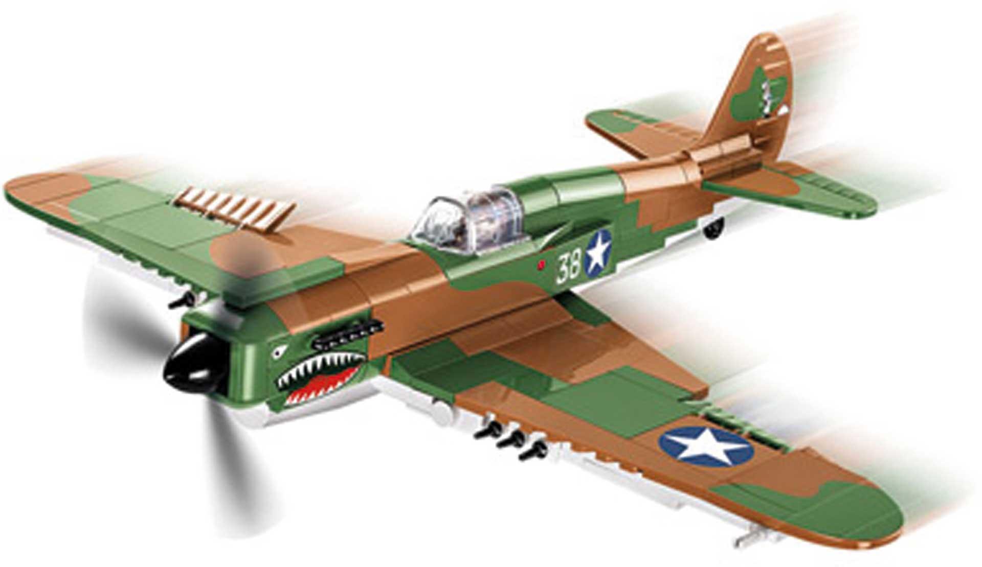 COBI Curtiss P-40E Warhawk (272 Teile) Klemmbausteine