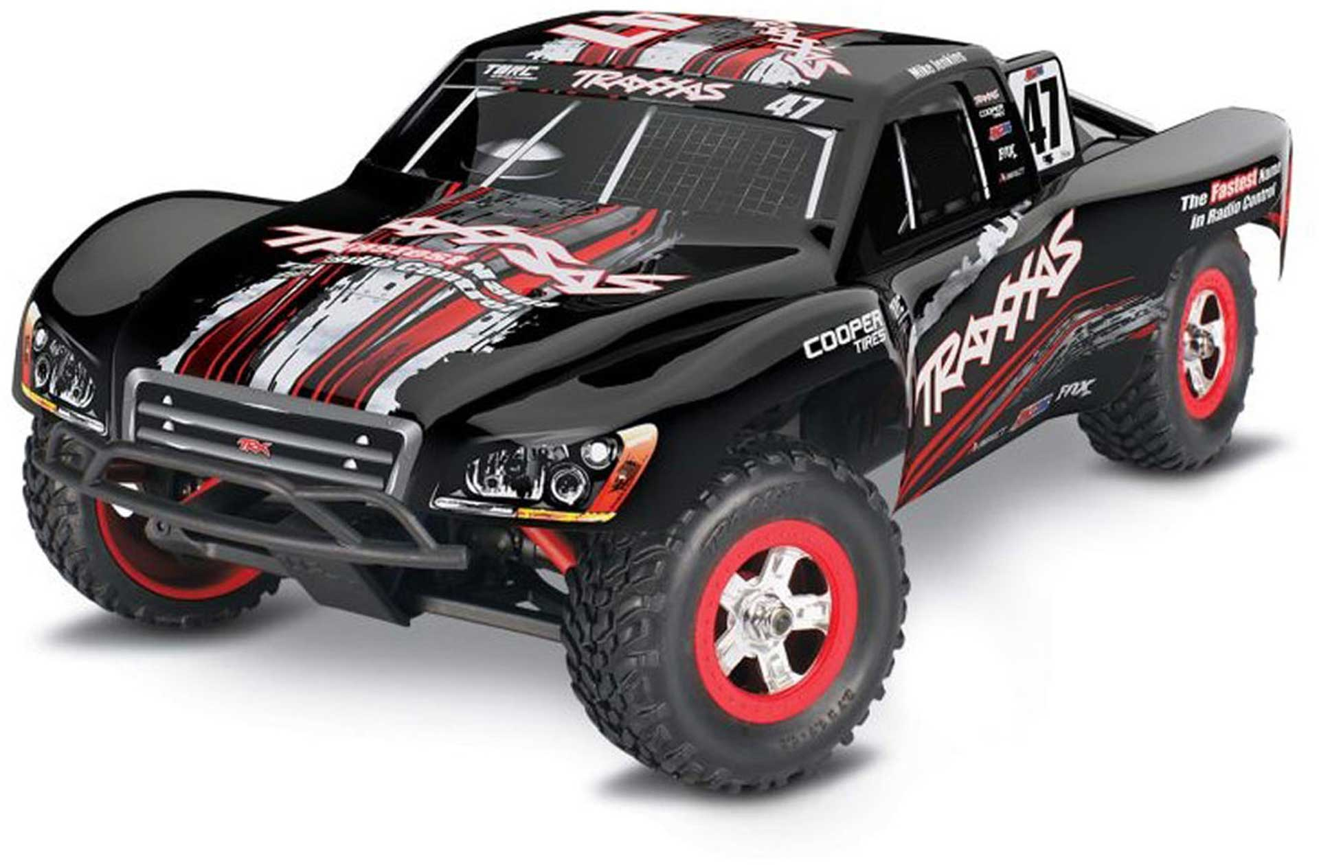 TRAXXAS SLASH 4X4 #47 MIKEJENKINS MIKE RTR 1/16 4WD +12V-CHARGER+BATTERY SHORT-COURSE-RACE-TRUCK BRUSHED