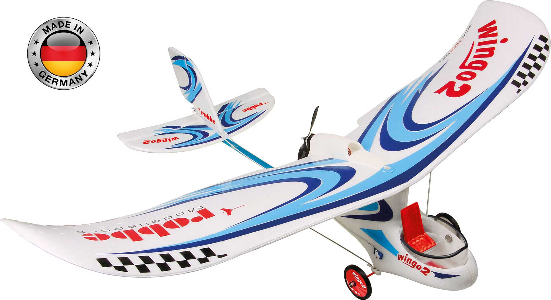 "ROBBE WINGO 2 KIT ""YOU CAN FLY"" WITH BRUSHLESS MOTOR, ESC AND SERVOS"