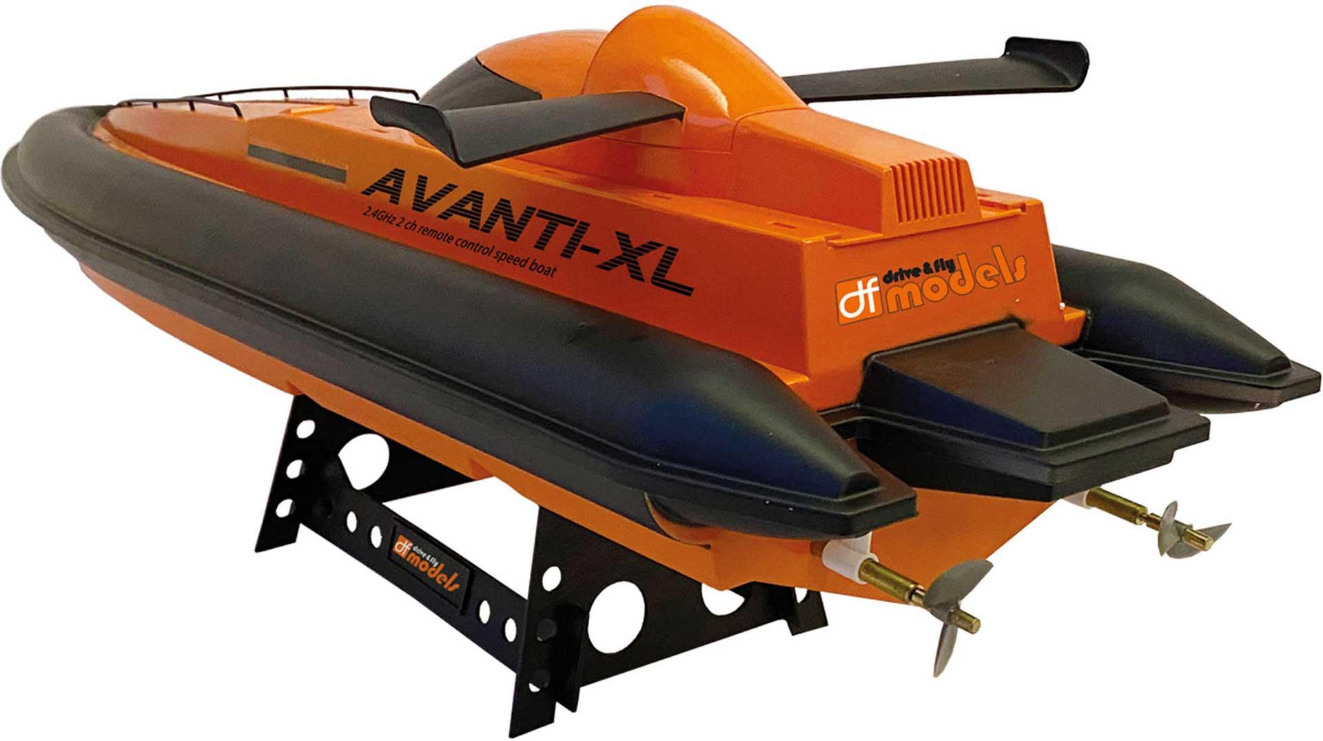 DRIVE & FLY MODELS AVANTI-XL RACING BOAT RTR