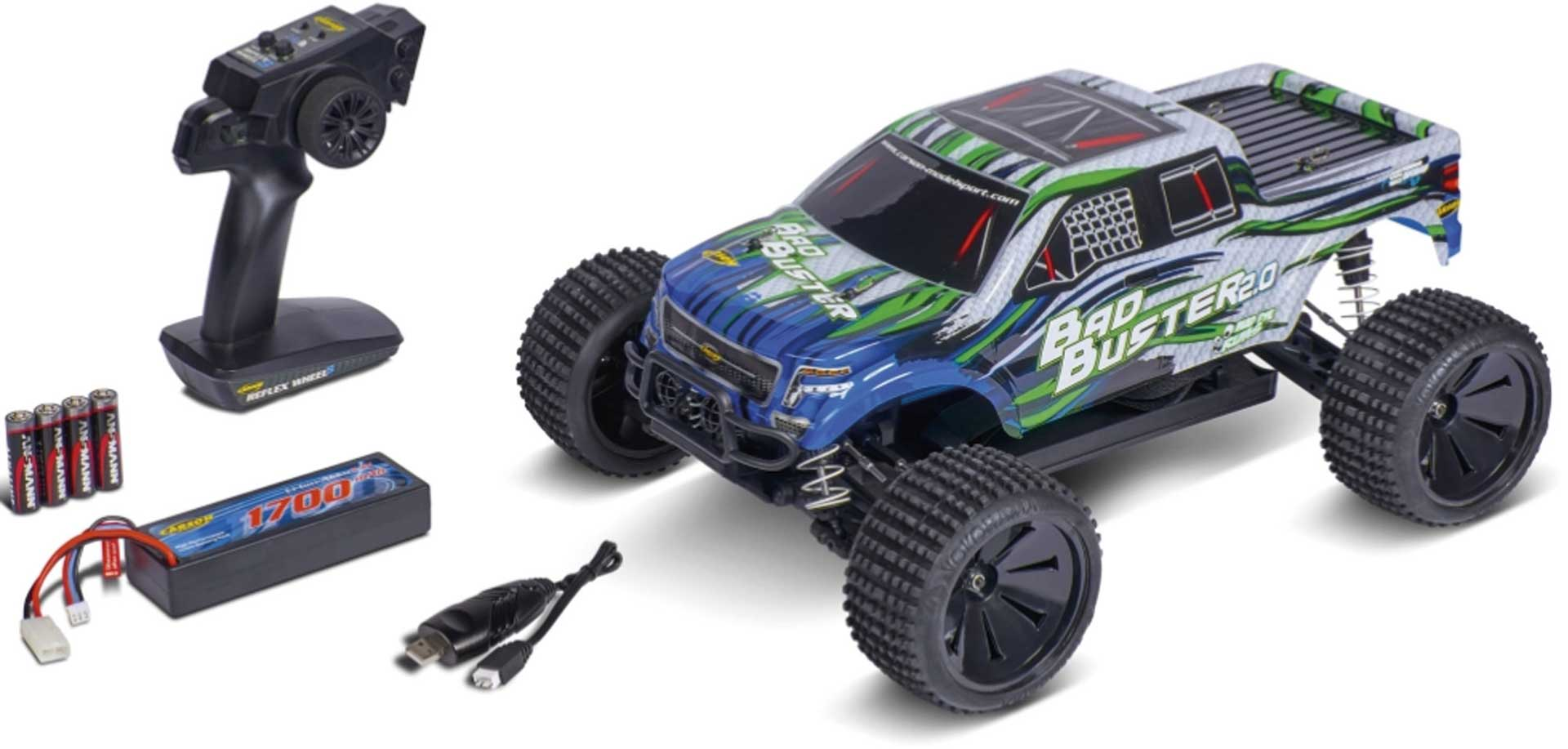CARSON Bad Buster 2.0 4WD X10 2.4G 100%RTR 1:10