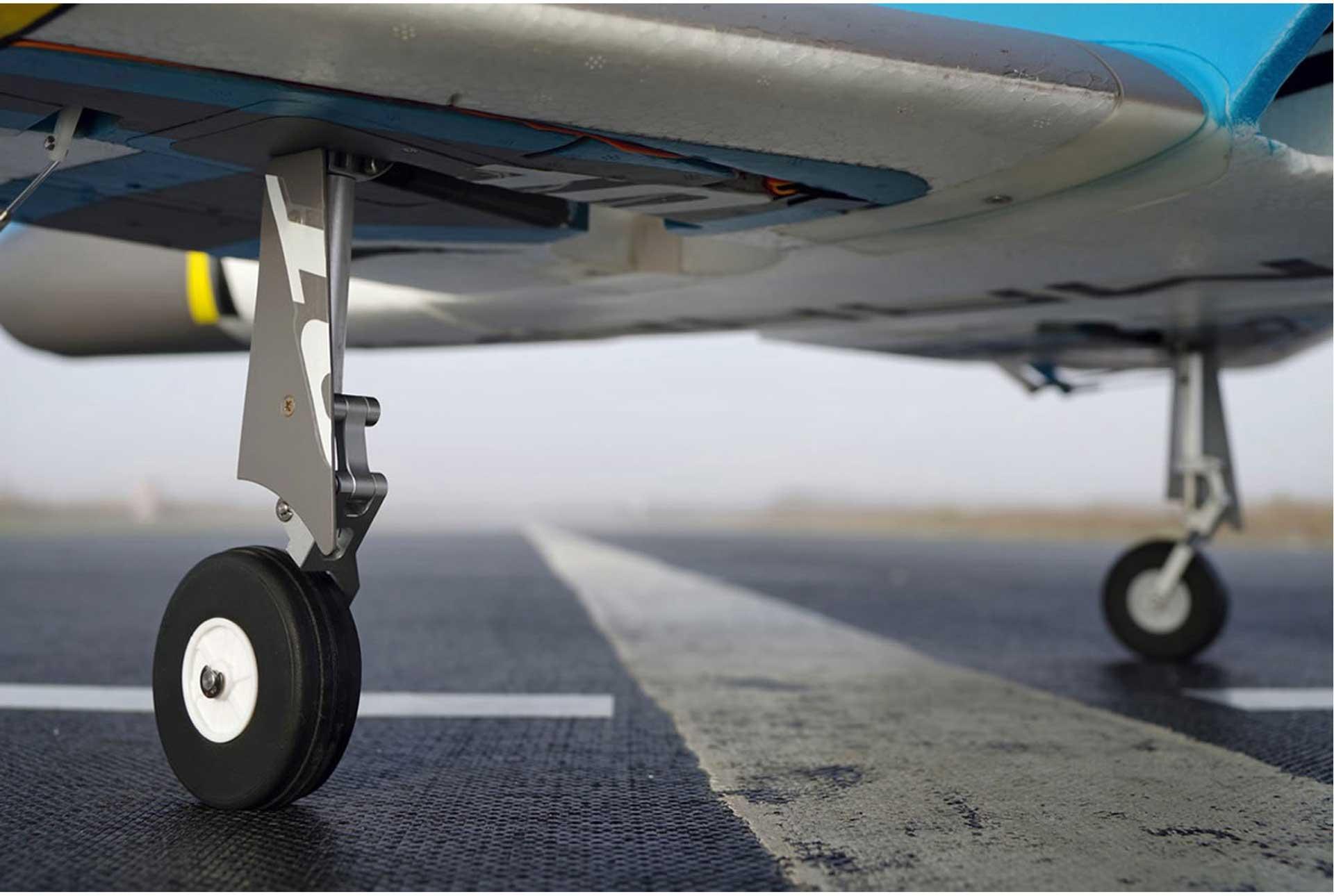 FMS Futura V2 Jet EDF 80 PNP - 106 cm - Blue -Combo incl. Reflex Gyro System