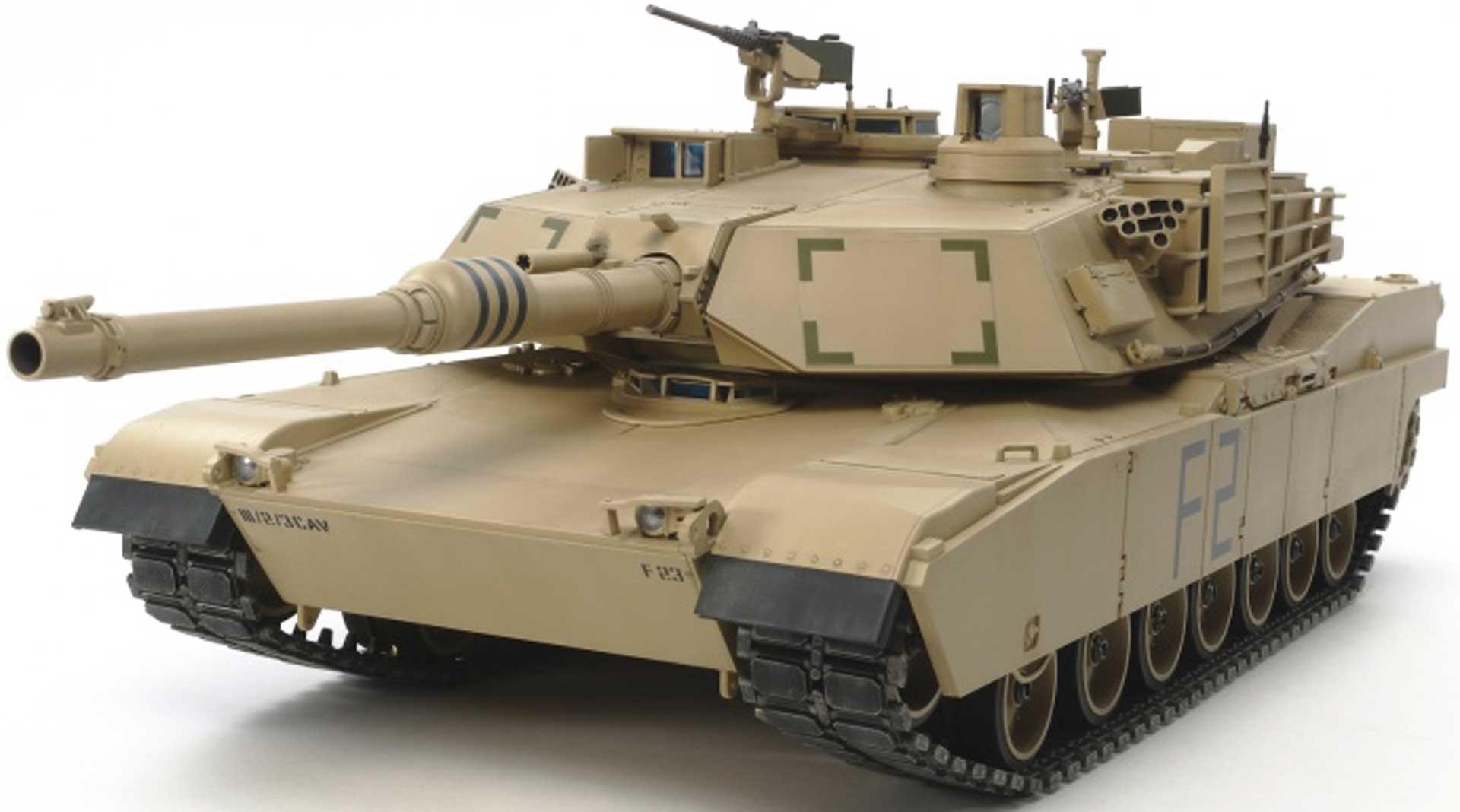 TAMIYA US KPZ M1A2 ABRAMS FULL OPTION 1/16 EP CONSTRUCTION KIT