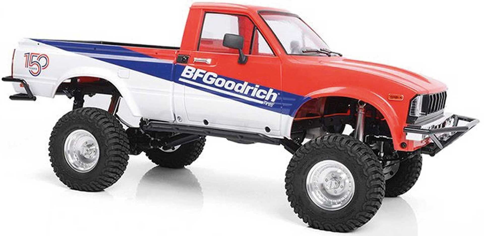 RC4WD TRAIL FINDER 2 RTR W/MOJAVE II BODY SET BFGOODRICH 150TH ANNIVERSARY EDITION