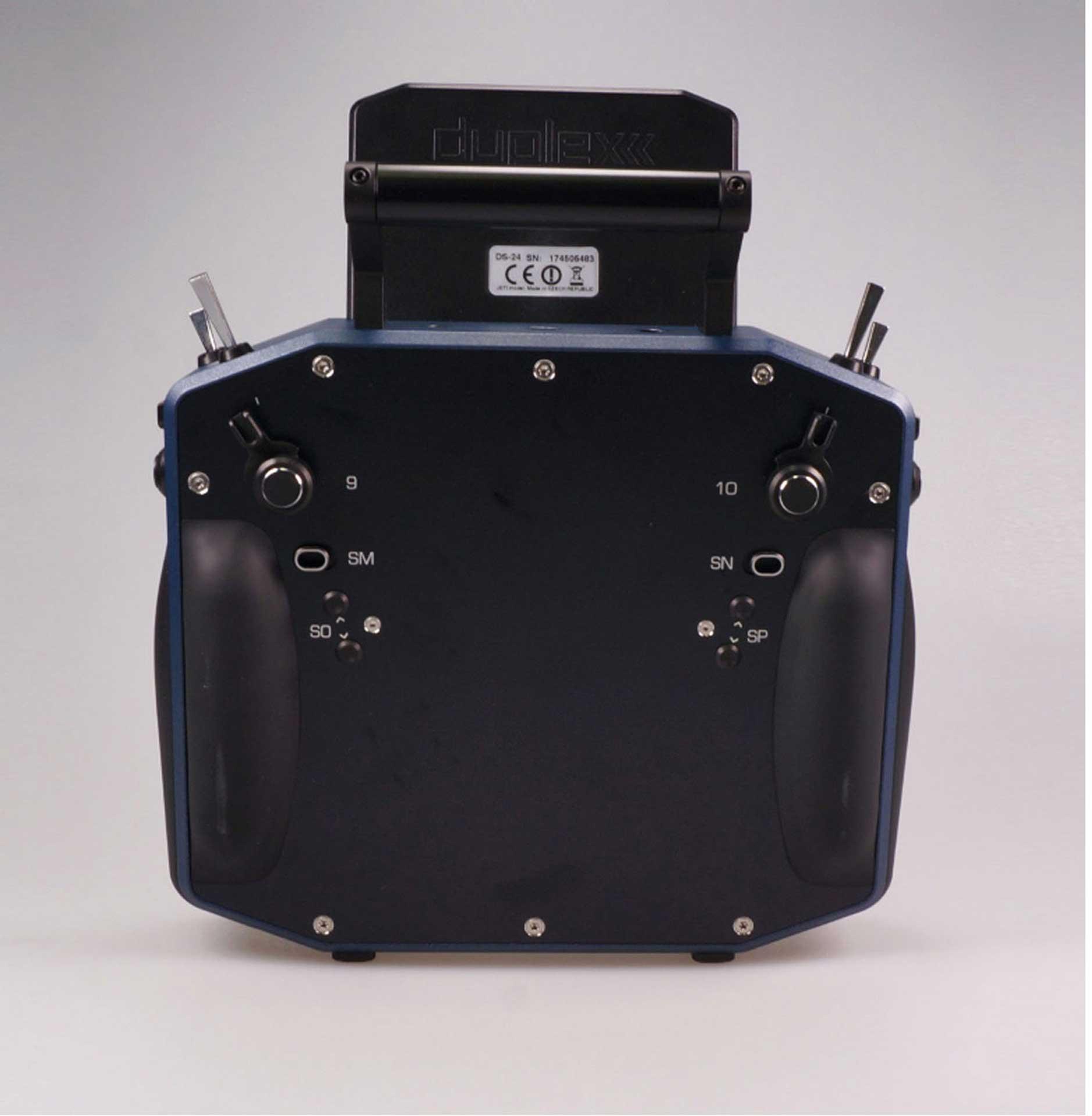 JETI DS-24 DUPLEX HANDSENDER DARK BLUE CARBON LINE MULTIMODE