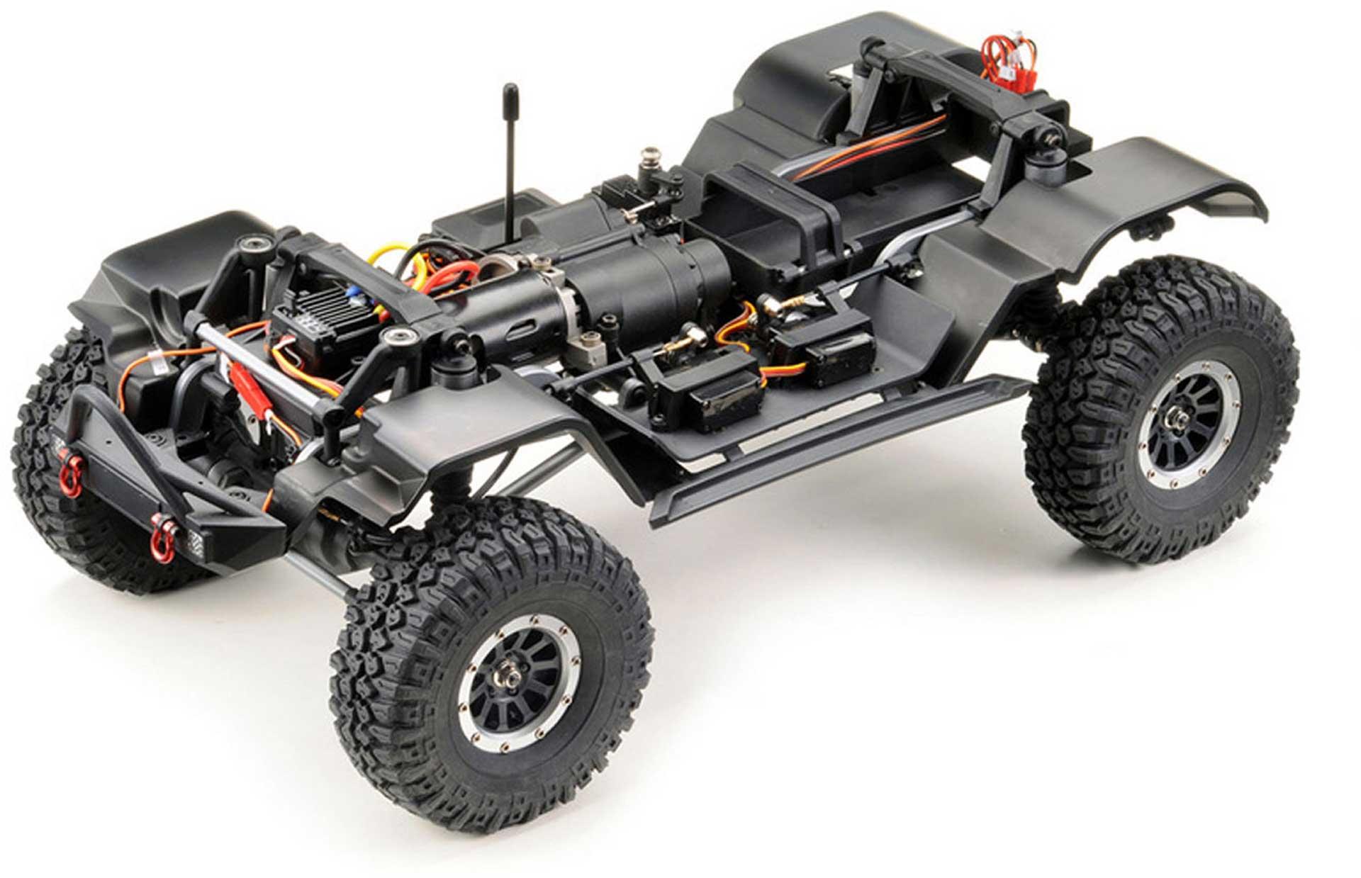 """ABSIMA CR3.4 """"SHERPA"""" 1/10 Grau RTR Crawler"""