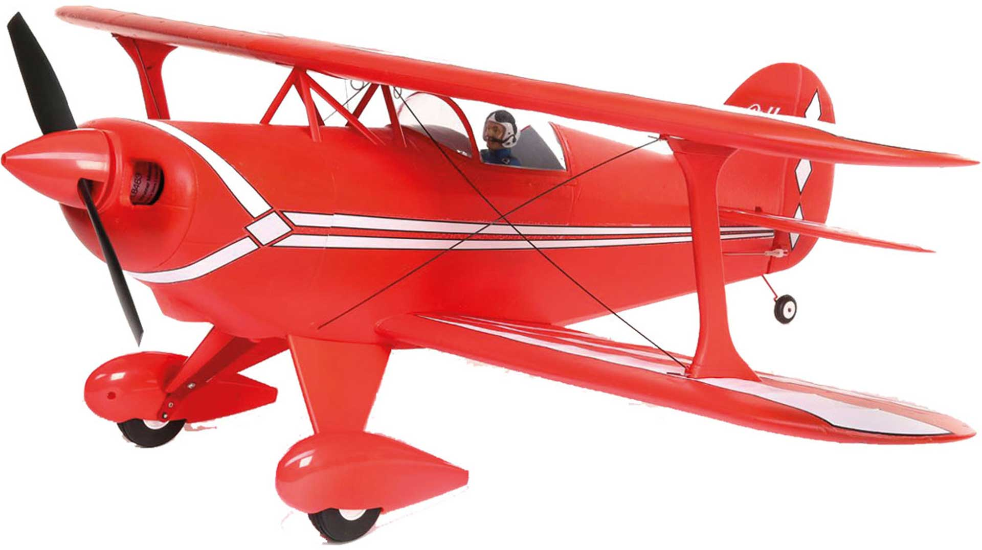E-Flite Pitts 850mm BNF Basic w/ AS3X/SAFE Select