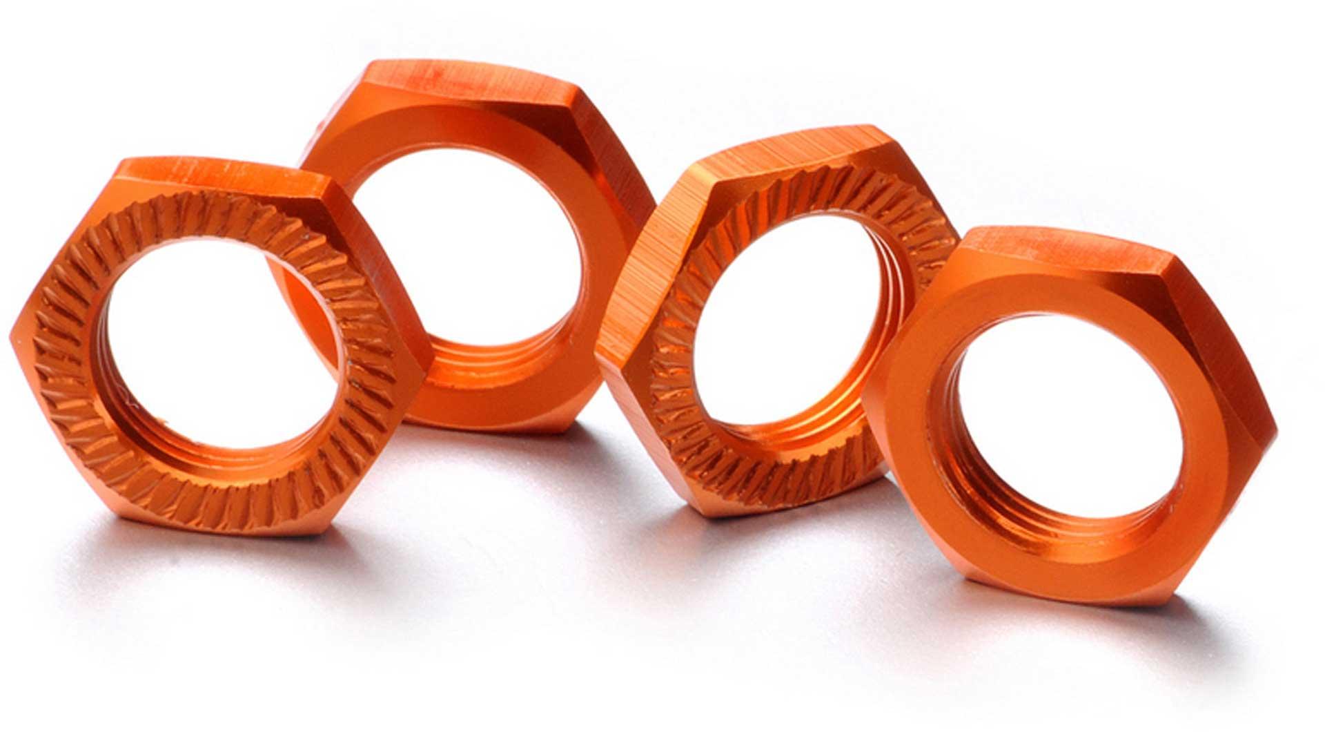 ABSIMA Wheel nut self-locking 17mm orange (4)