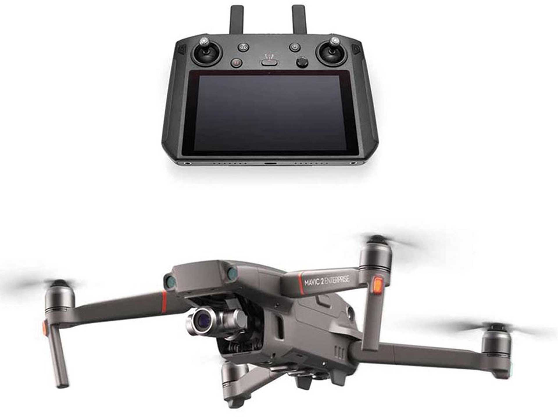 DJI MAVIC 2 ENTERPRISE ZOOM ED, MIT SMART FERNSTEUERUNG
