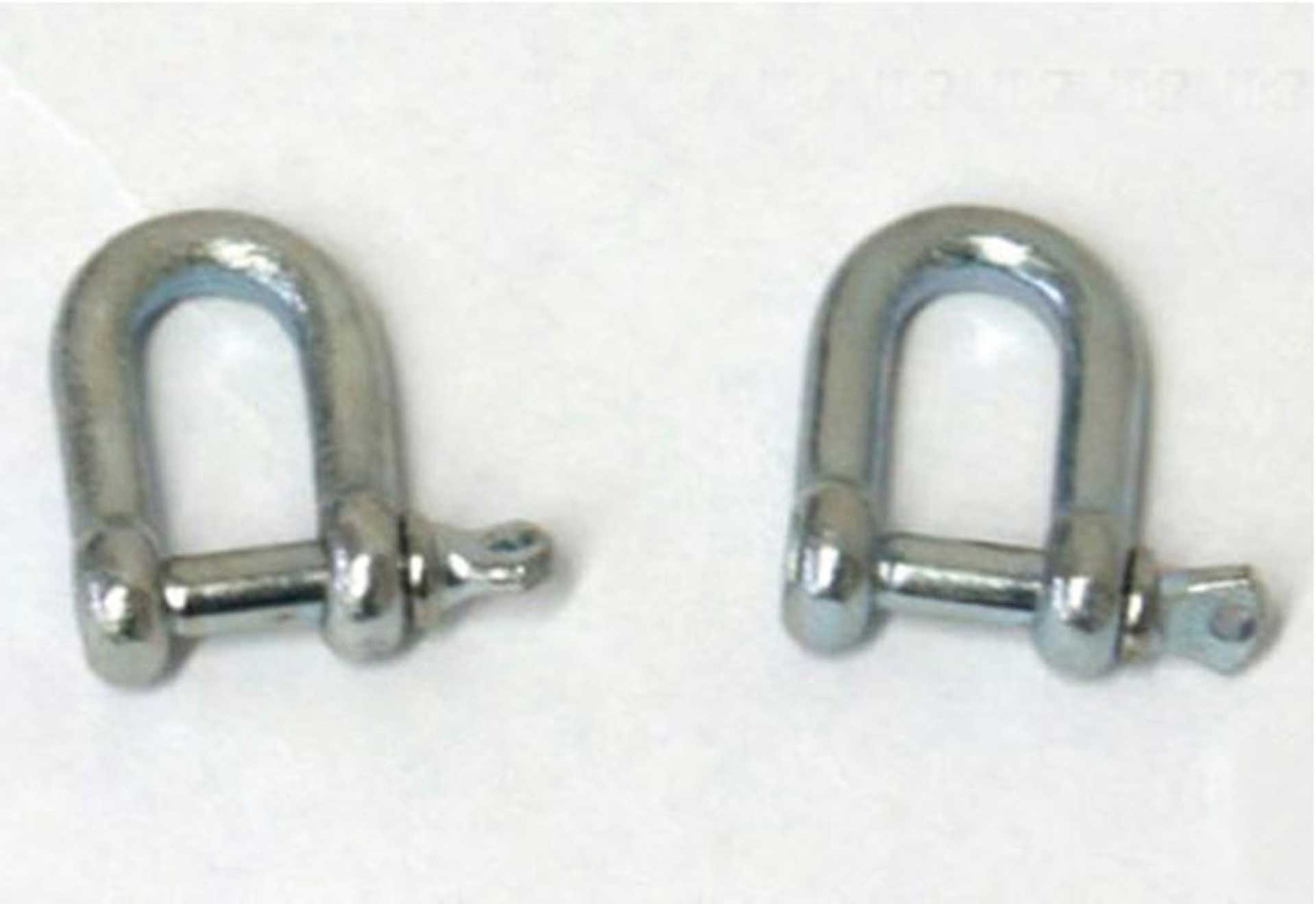 PARA-RC SHACKLE 2PAIR (2PIEC.) 5MM  FOR ATTACHMENT OF HARNESSES/NACELLA TO SHOULDER STRAP OF THE UMBRELLA