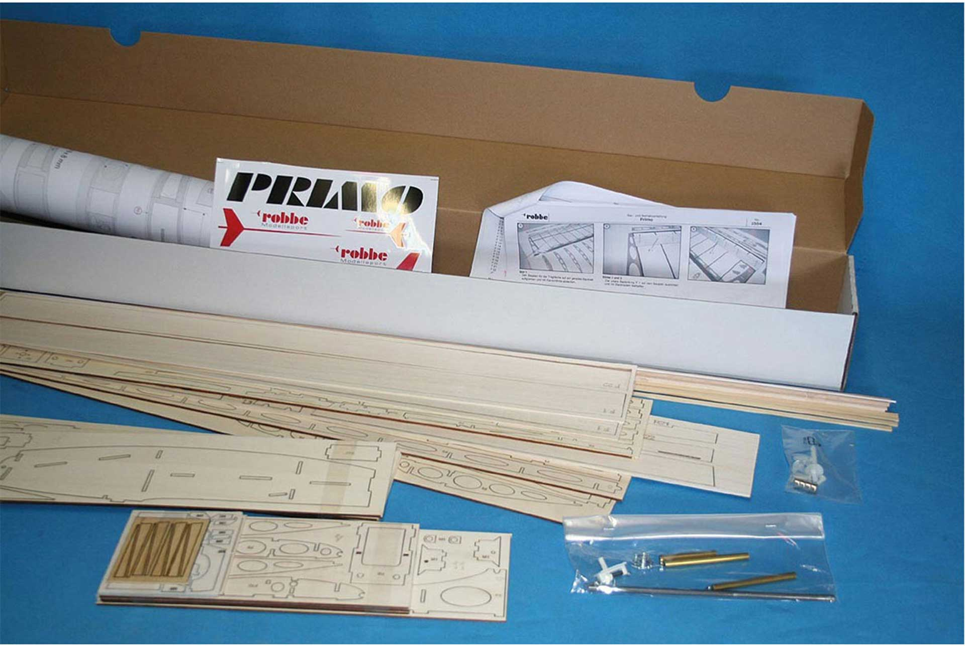 """ROBBE PRIMO HOLZBAUSATZ """"MADE IN GERMANY"""""""