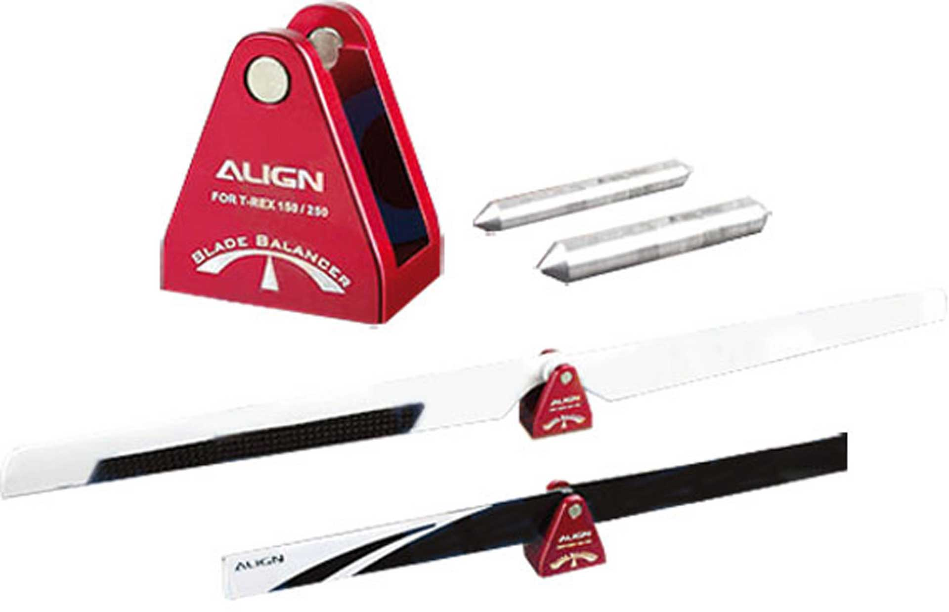 ALIGN ROTOR BLADES SCALE  FOR  T-REX 150/250