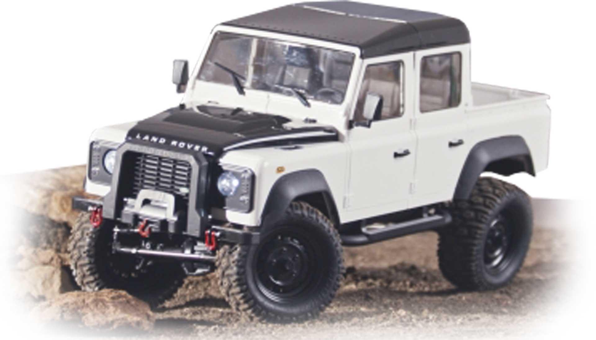 FM-ELECTRICS Landrover Defender Crawler Pickup 4WD 1:8 RTR EP
