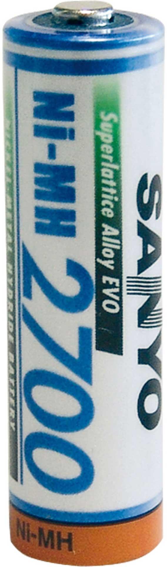 PANASONIC NI-MH EINZELZELLE 1,2 VOLT 2700 MAH