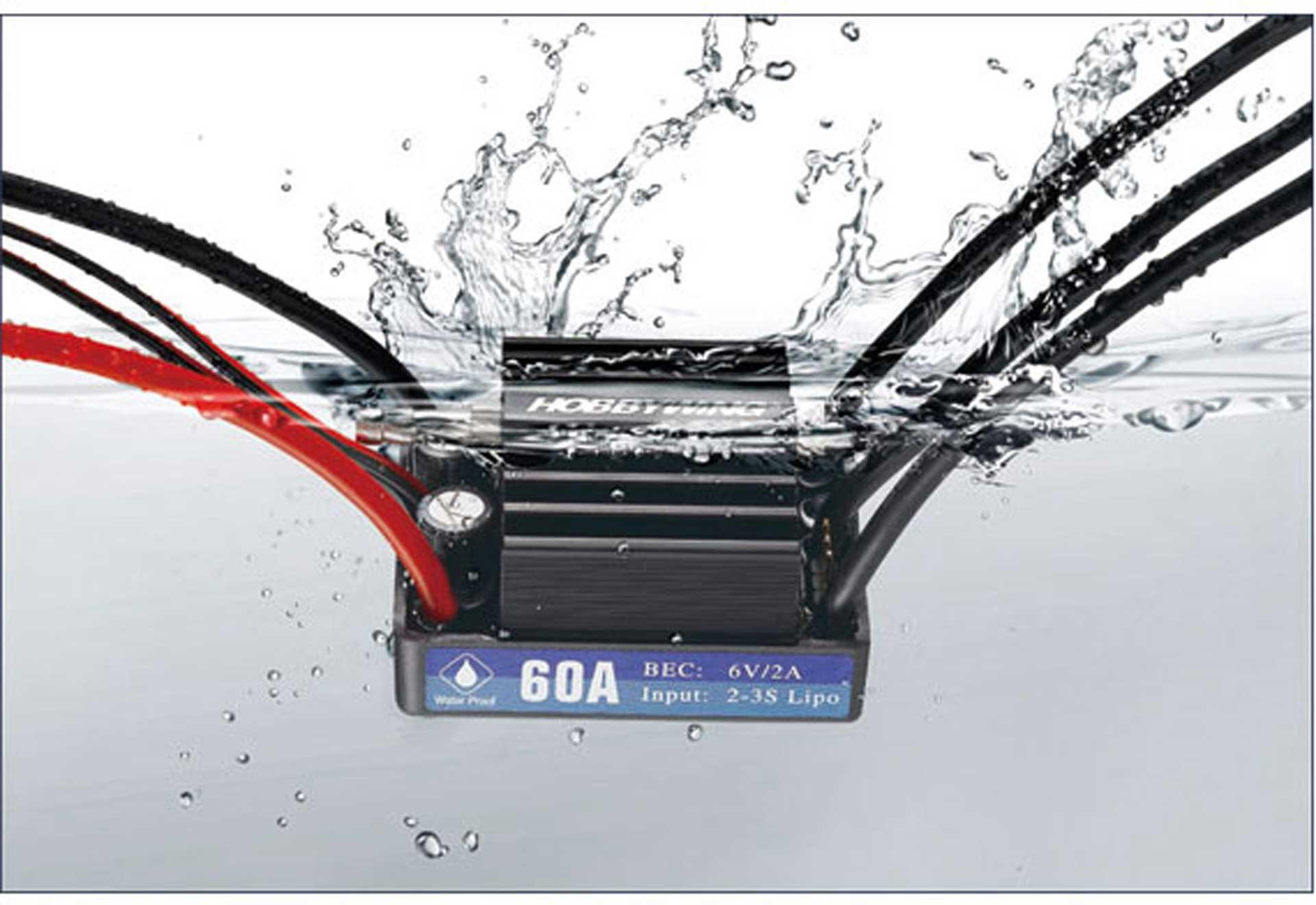 HOBBYWING SEAKING 60A V3.1 SBEC BRUSHLESS REGLER