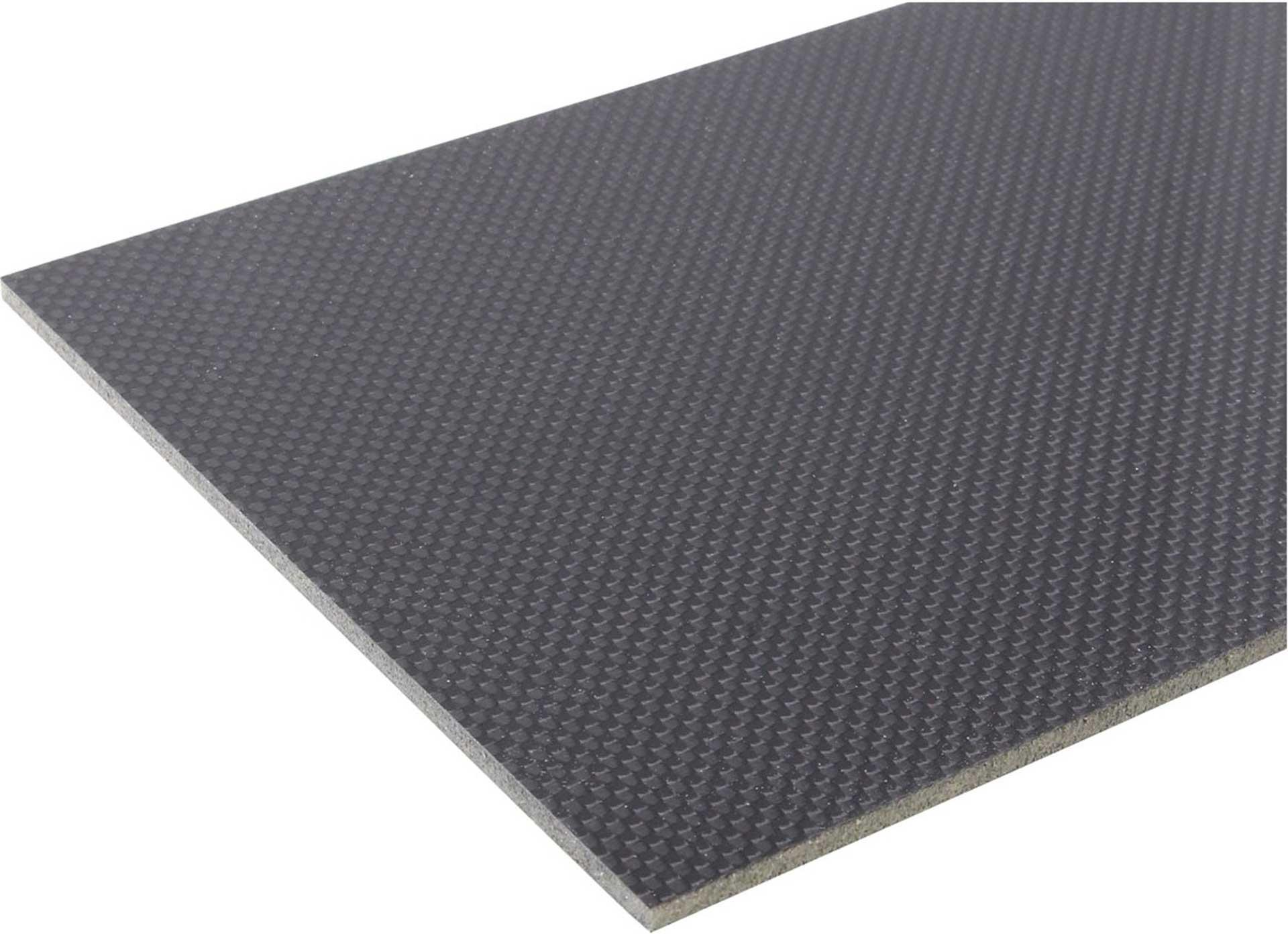 MODELLBAU LINDINGER CARBON-HEREX-CARBON PLATTE 300/160/6,0MM