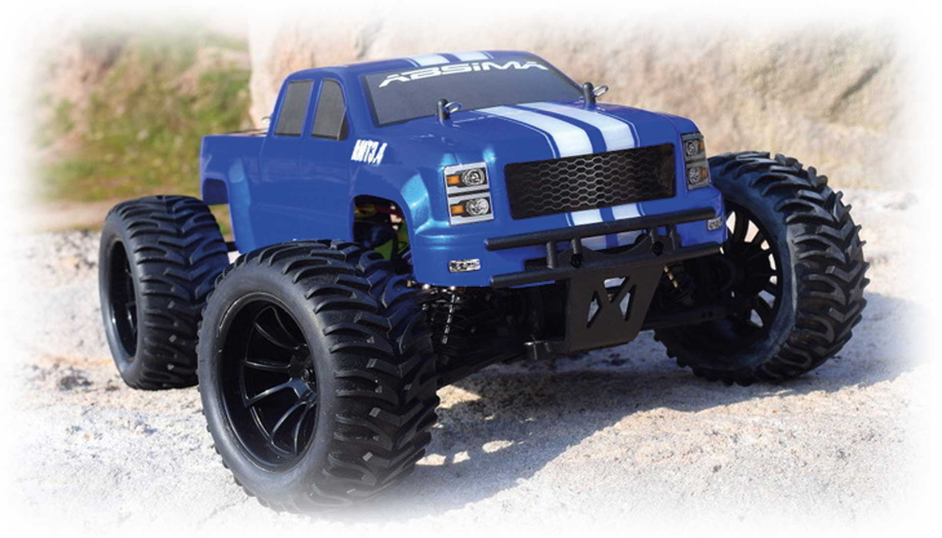 ABSIMA MONSTER TRUCK AMT3.4 4WD BRUSHLESS RTR 1/10