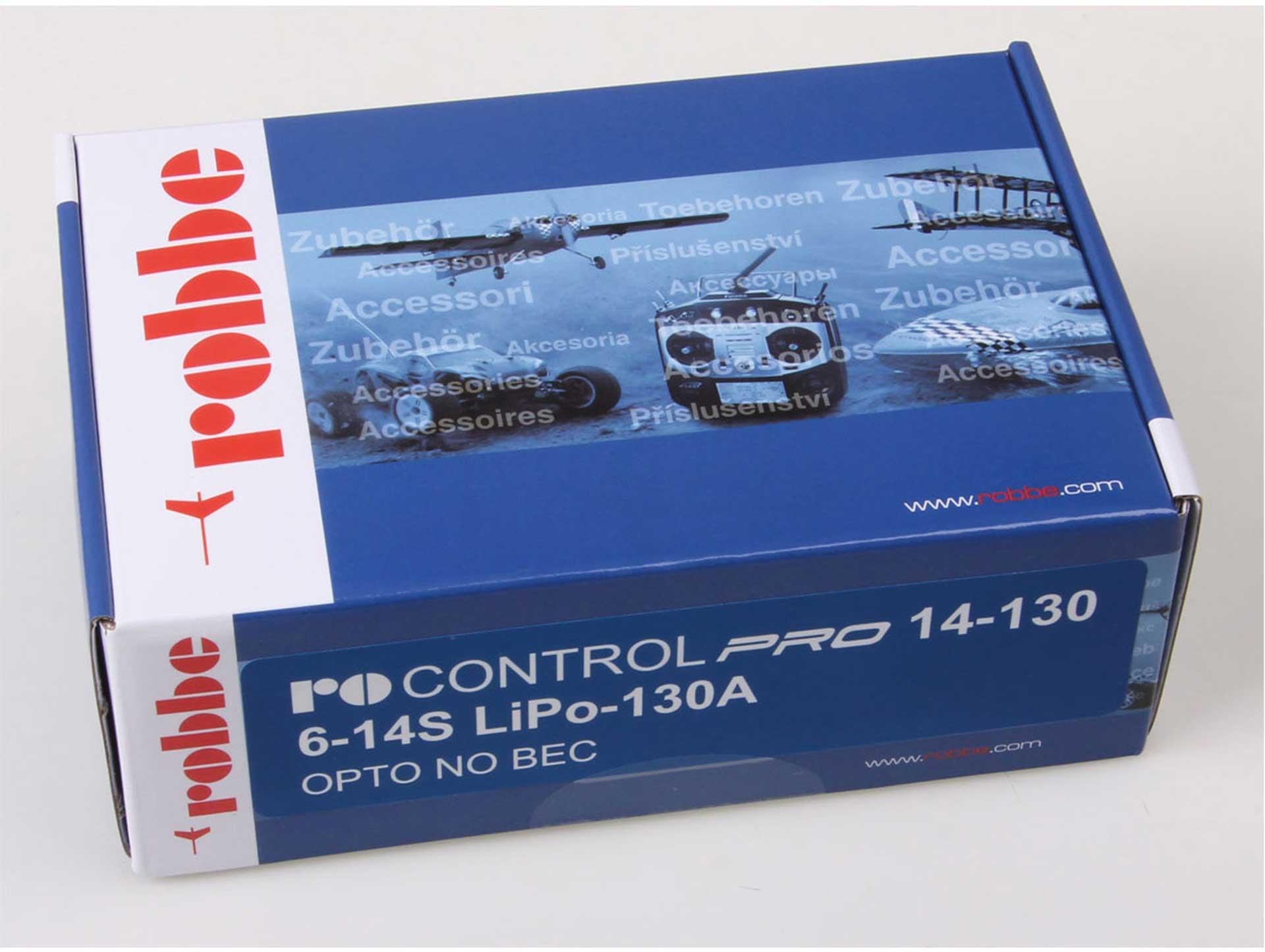 ROBBE RO-CONTROL PRO 14-130 6-14S -130(160)A OPTO Regler