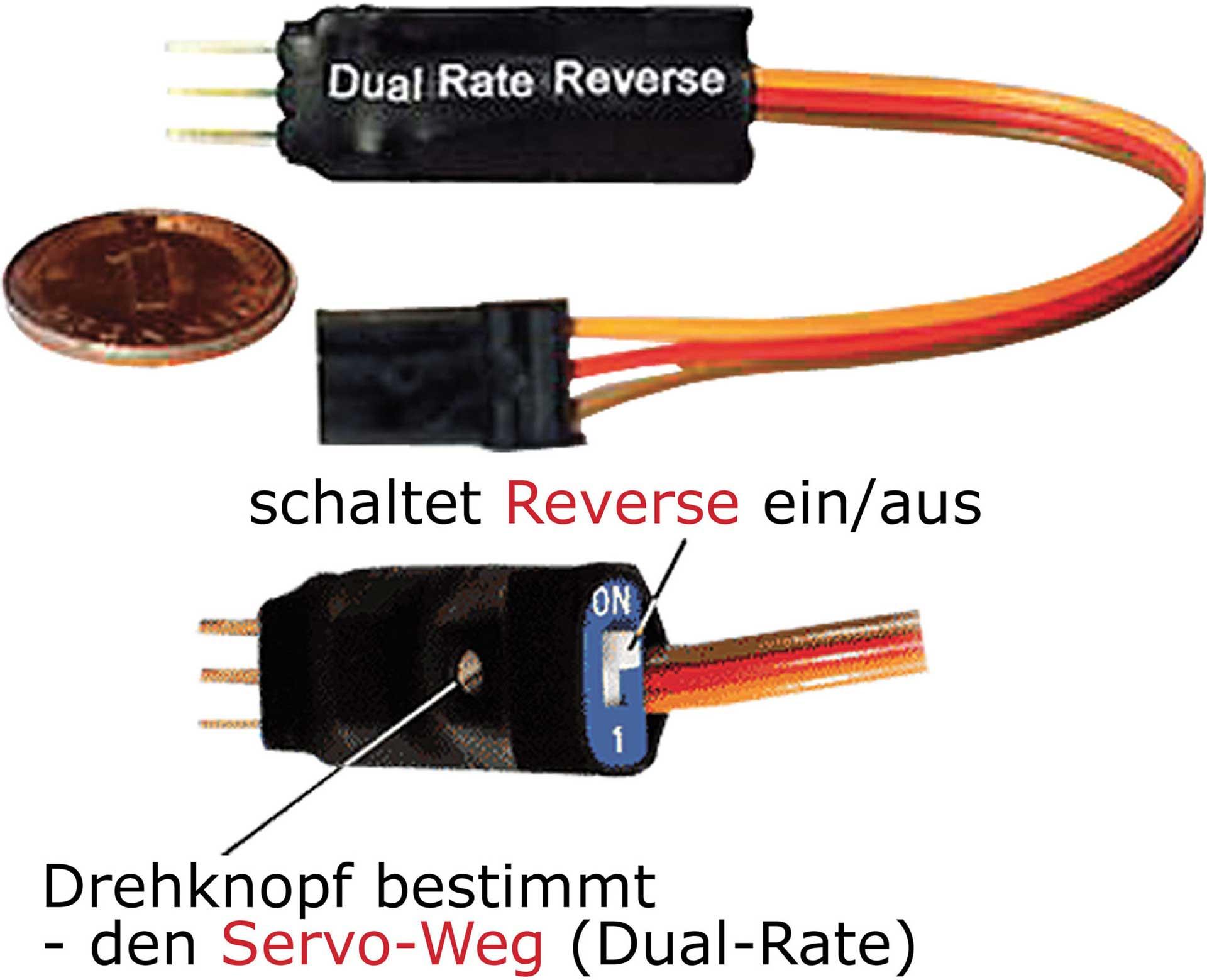 SIMPROP DUAL-RATE U.REVERSE MODUL UNI