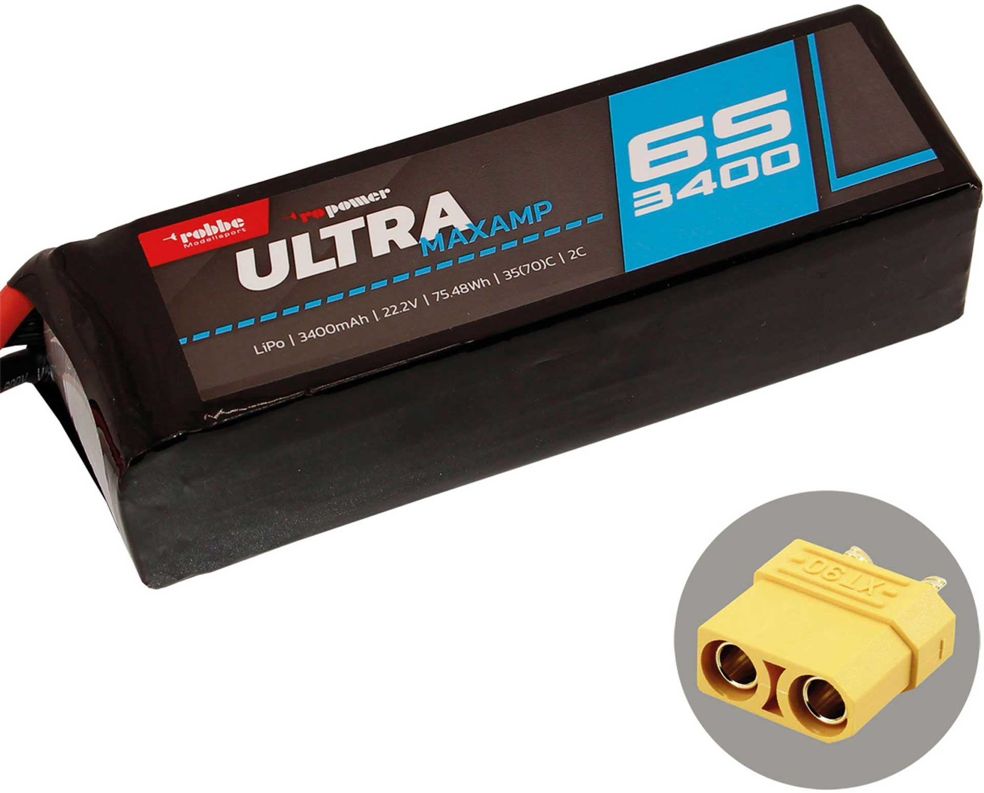 ROBBE RO-POWER ULTRA MAXAMP 3400MAH 22,2 VOLT