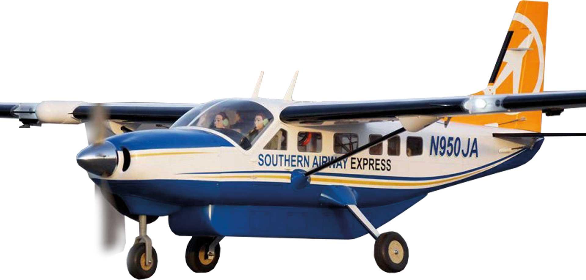 VQ Models Cessna 208 Grand Caravan (weiß) / 1650mm ARF