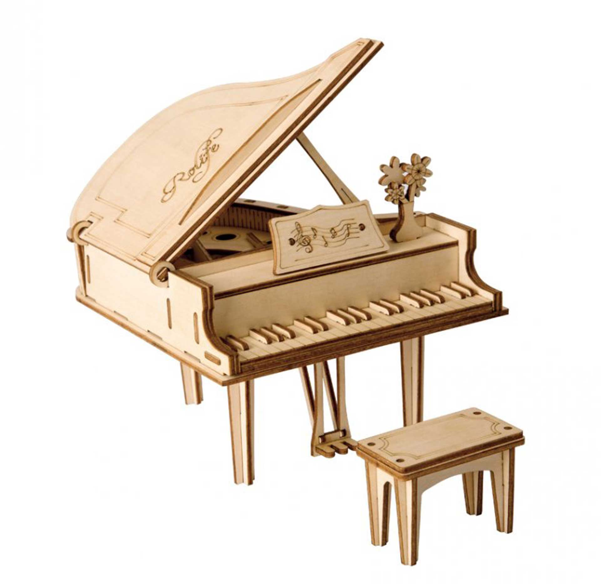 PICHLER PIANO 3D PUZZLE HOLZBAUSATZ
