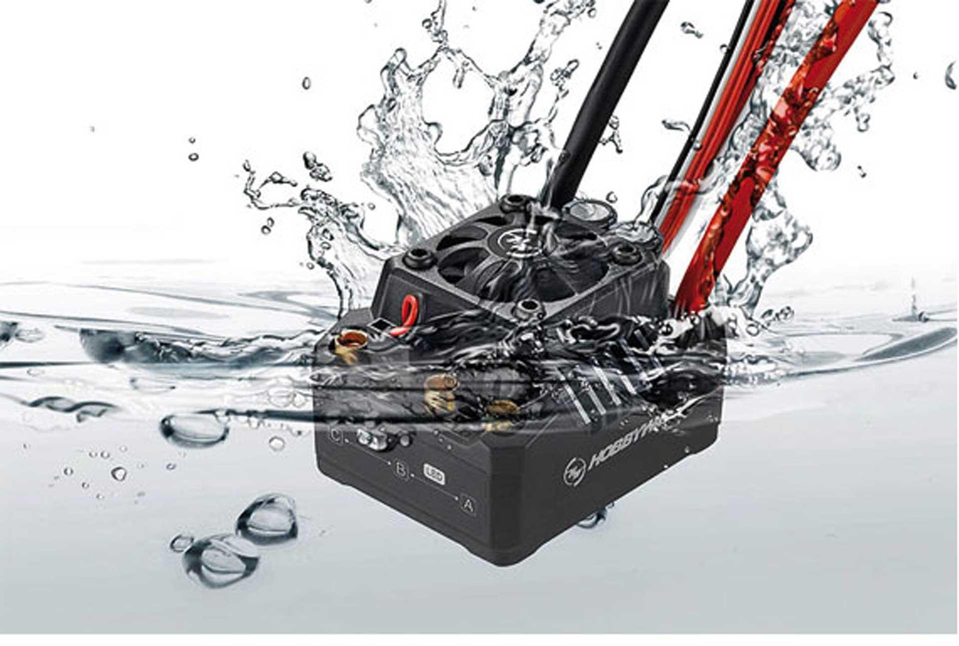 HOBBYWING EZRUN ESC MAX10-SCT 120A B EC 4A 2-4S WATERPROOF FOR 1/10