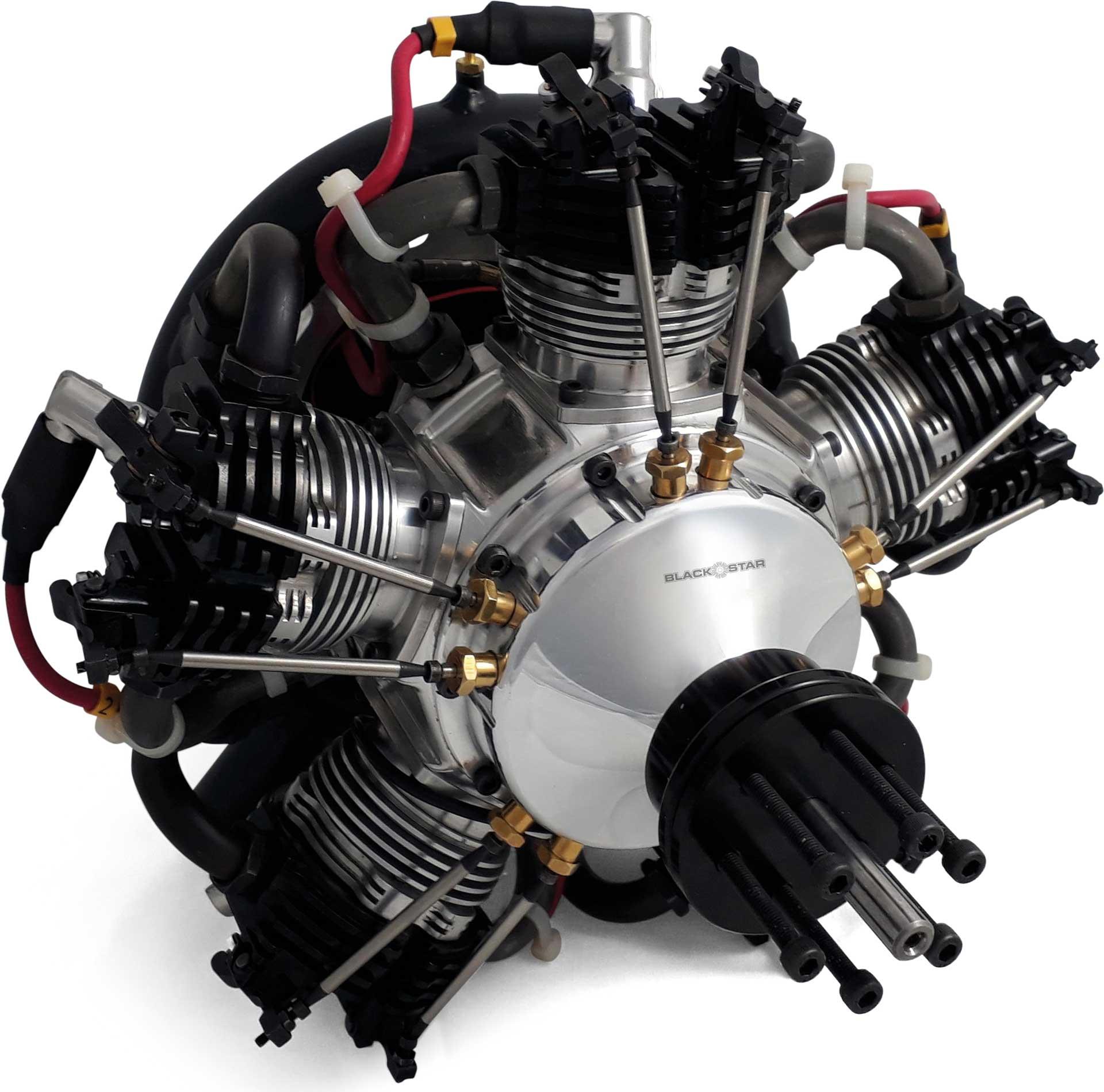 UMS Tomahawk Black Star 5-250 V4 Sternmotor