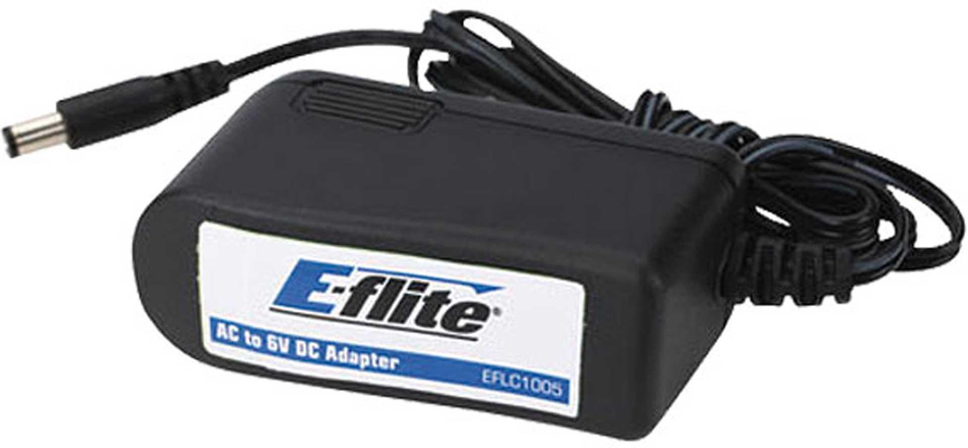 E-flite 1,5A 6V Netzteil für 4-Port-Ladegerät