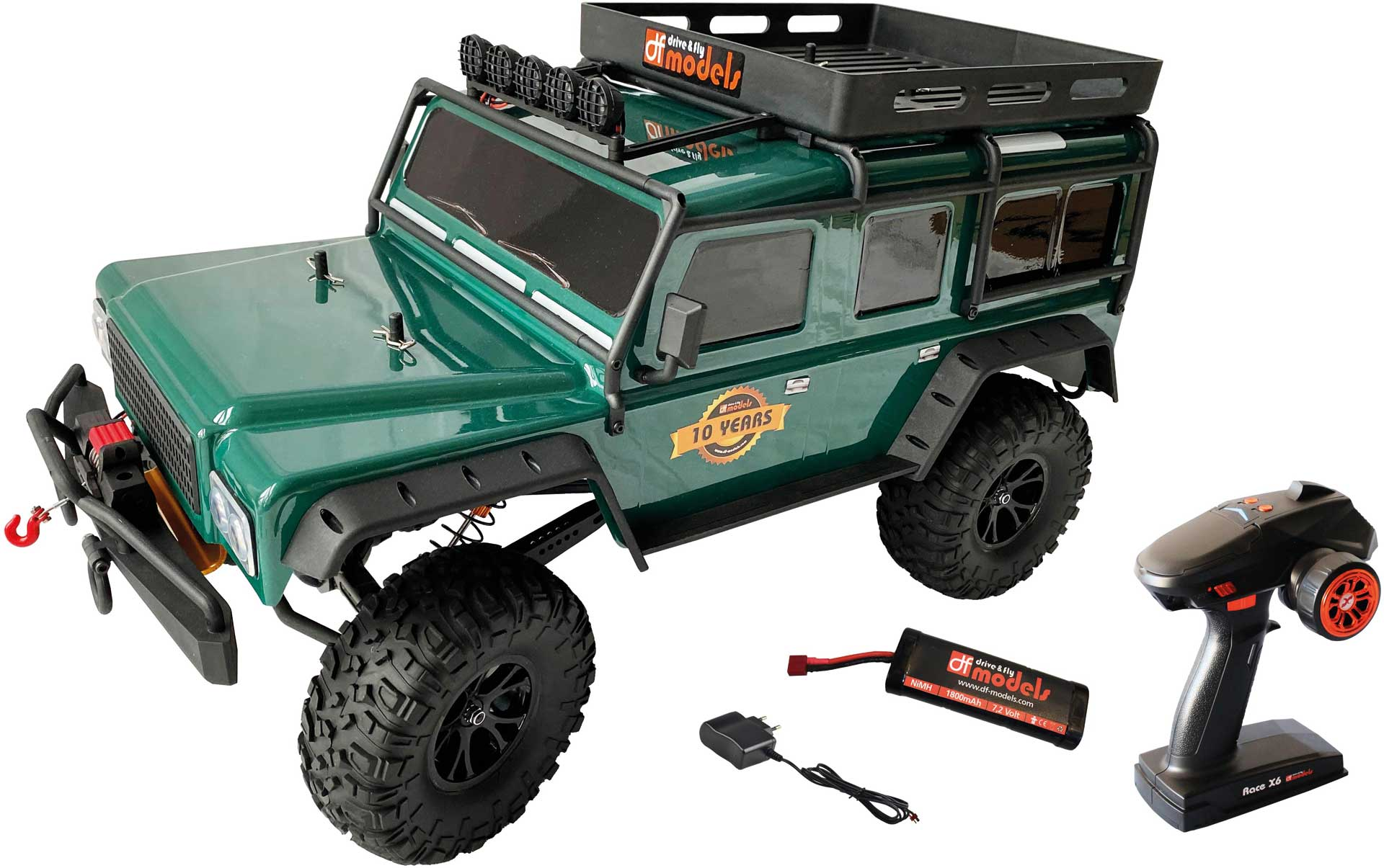 DRIVE & FLY MODELS DF-4J Crawler XXL 10 Years Edition II (2021) GREEN
