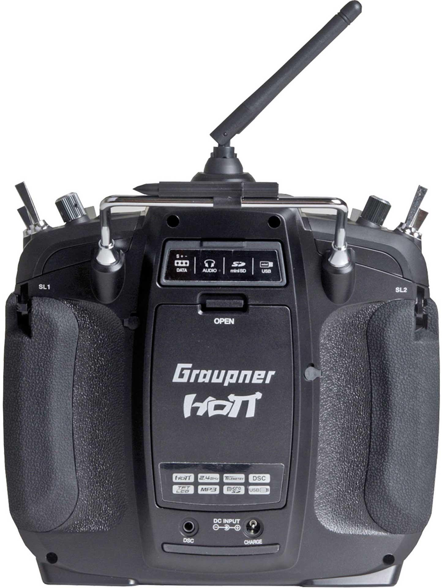 GRAUPNER MZ-24 PRO HOTT Einzelsender 2,4Ghz Fernsteuerung