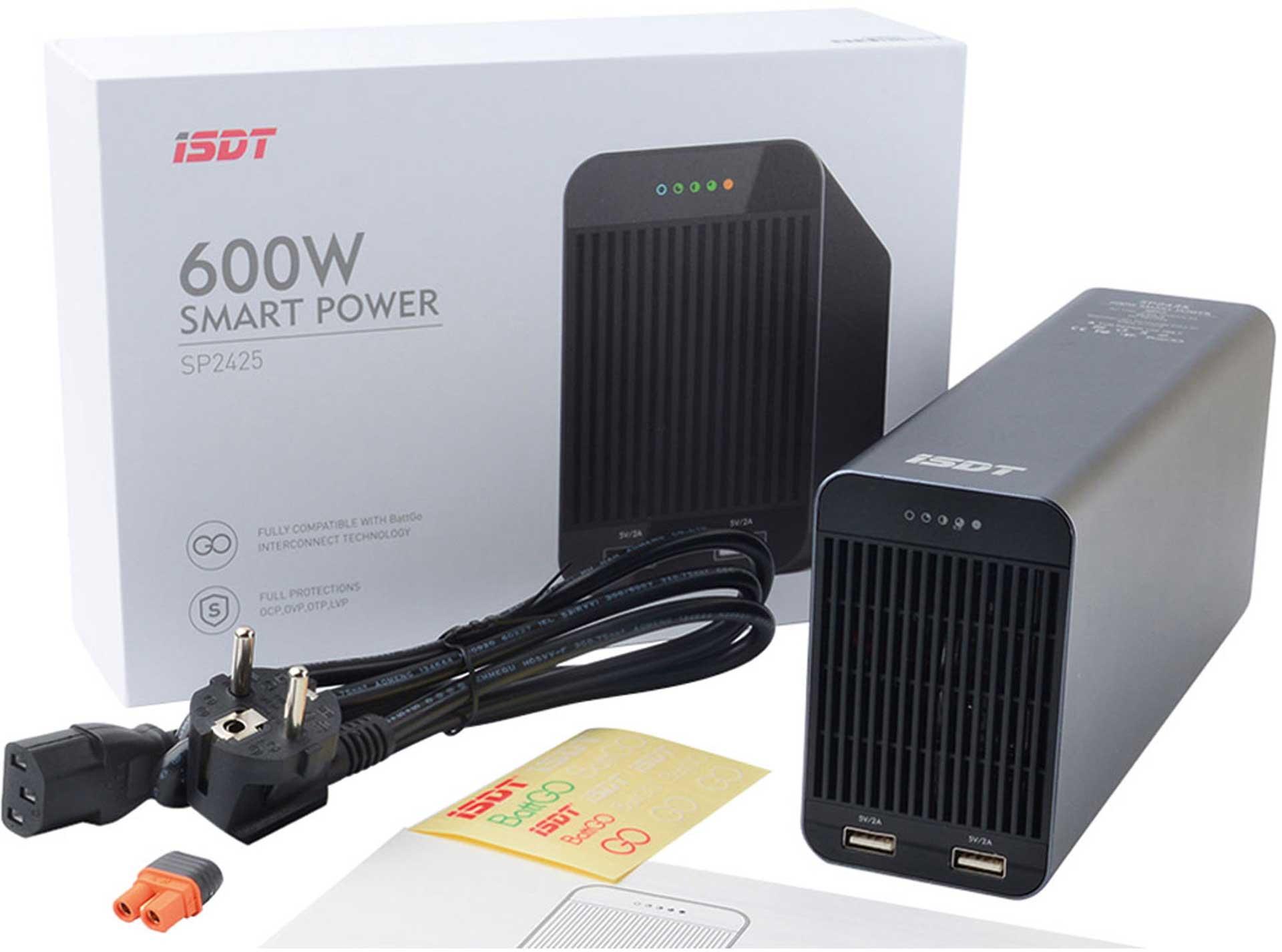 ISDT SP2425 24V SMART POWER NETZGERÄT 600W MIT BATTGO®