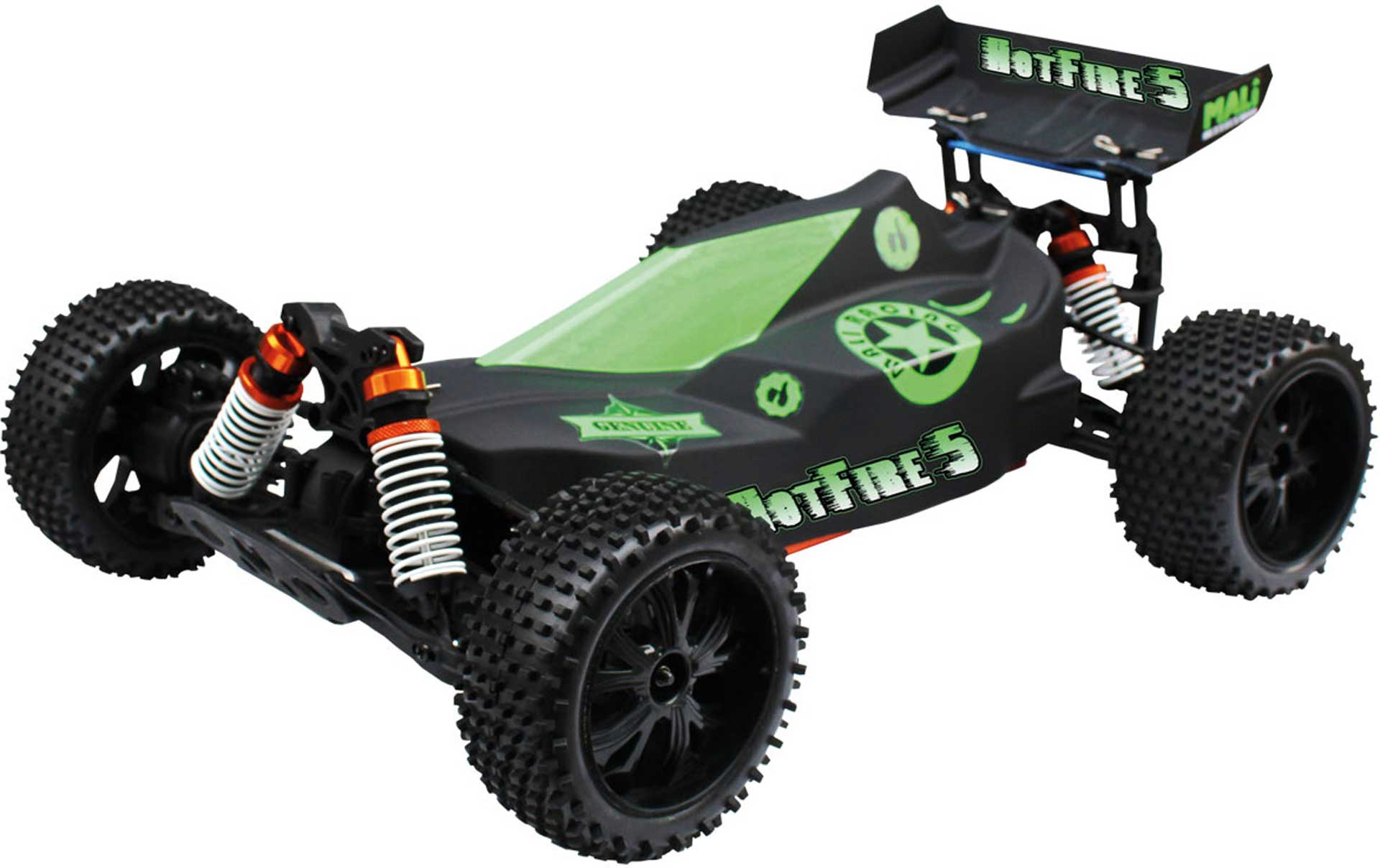 DRIVE & FLY MODELS HOTFIRE 5 BRUSHLESS BUGGY 1/10XL RTR 4WD