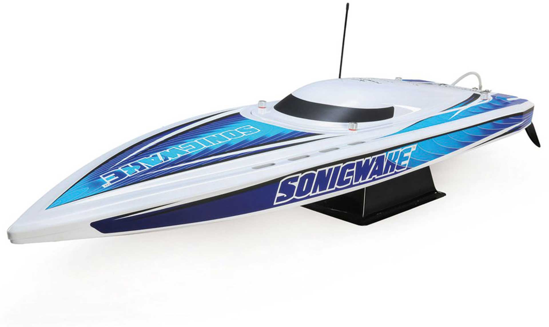 "PROBOAT SONICWAKE 36"" BRUSHLESS DEEP-V RTR WEIß"