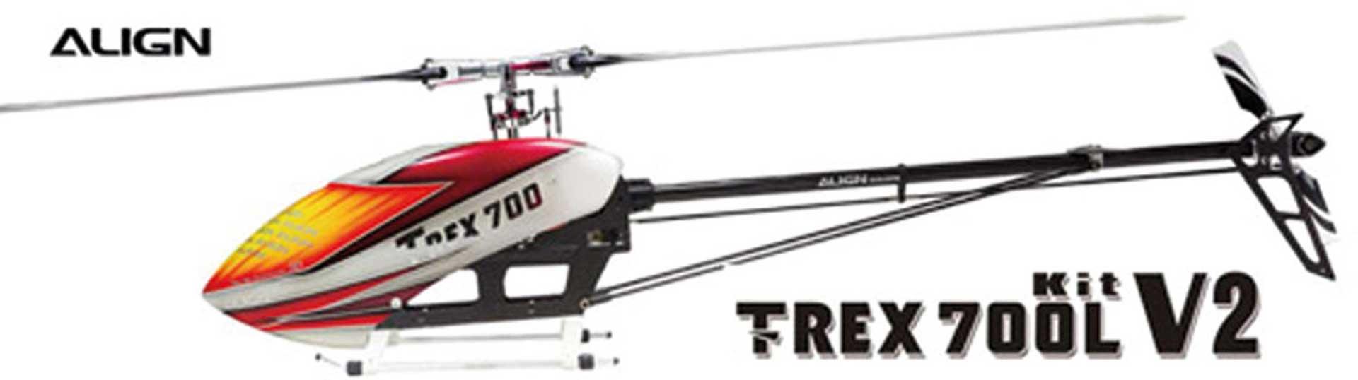 ALIGN T-REX 700L V2 KIT Hubschrauber / Helikopter