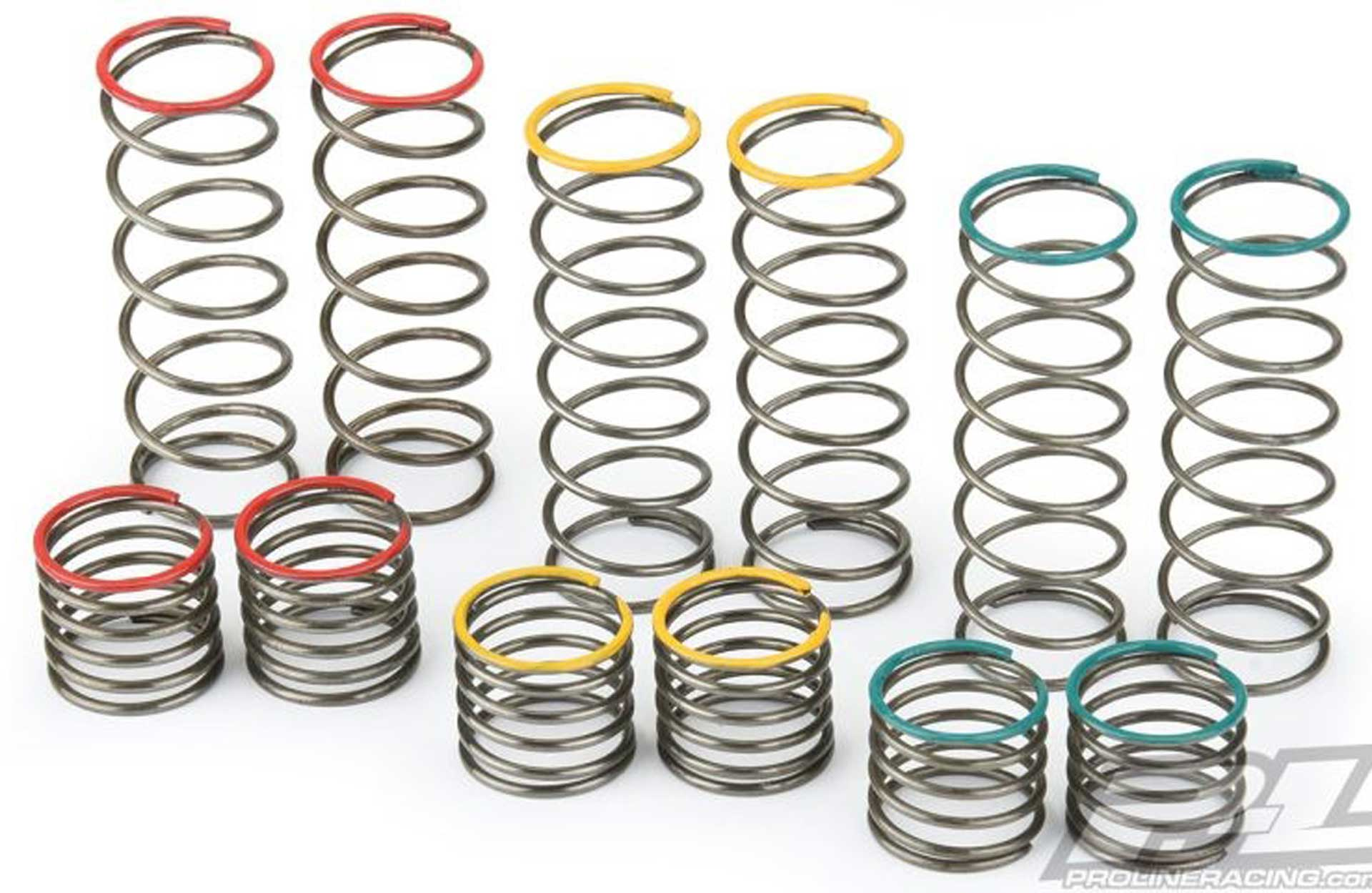 PROLINE Powerstroke rear shock spring set ARRMA damper 6359-01