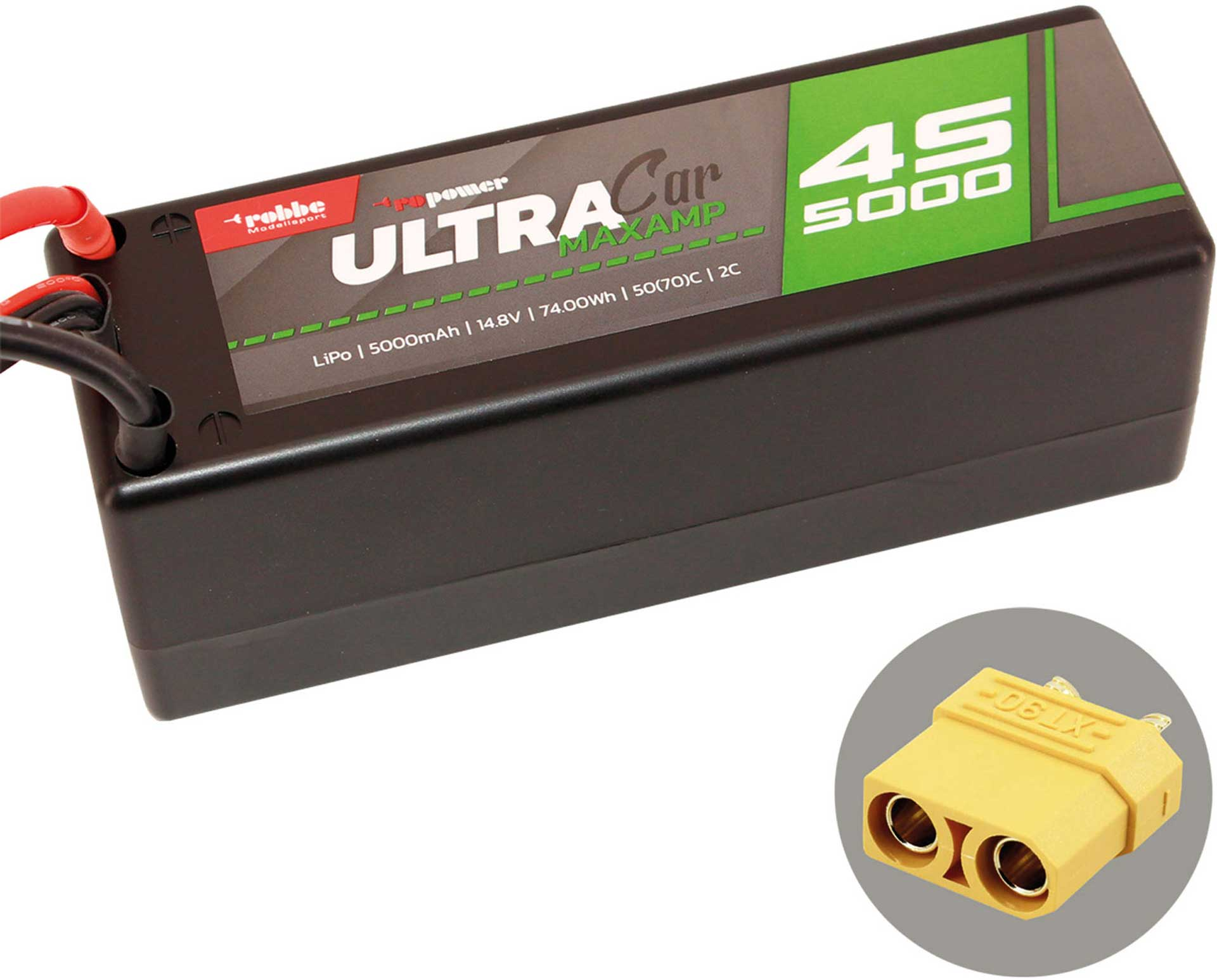 ROBBE RO-POWER ULTRA MAXAMP CAR 5000MAH 14,8