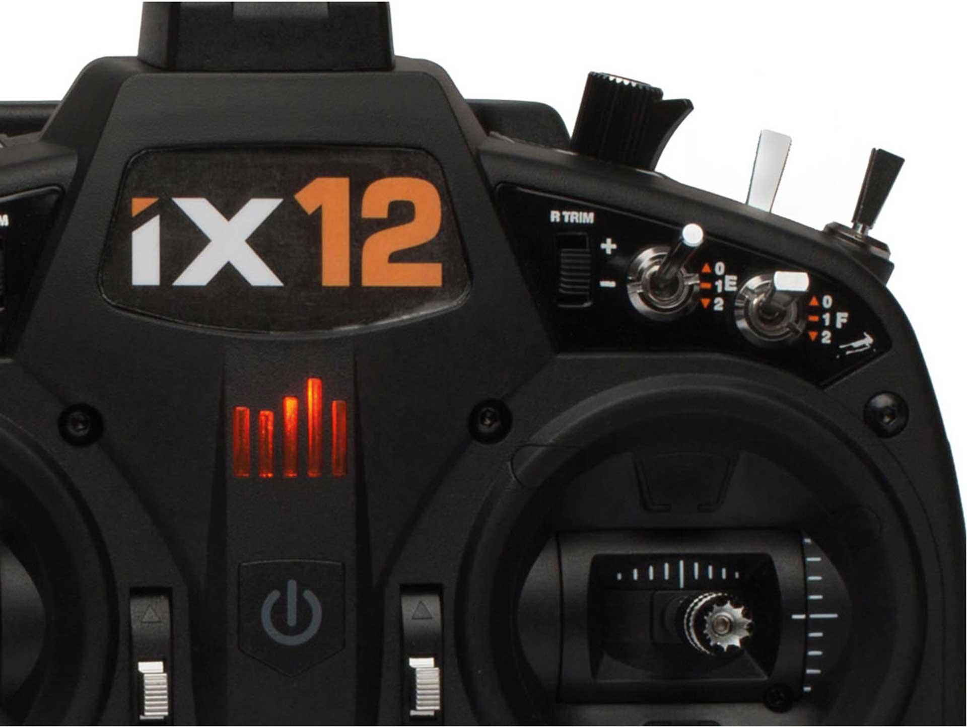 SPEKTRUM IX12 12-KANAL 2,4Ghz FERNSTEUERUNG SOLOSENDER