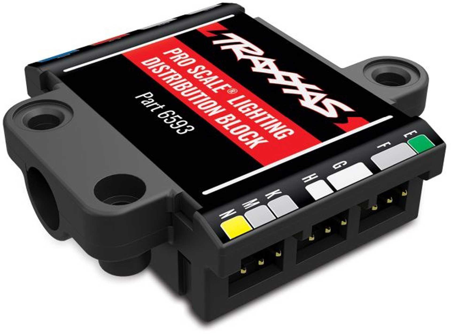 Traxxas PRO SCALE ADVANCED LICHT-CONTROL-SYSTEM NUR VERTEILER-BLOCK