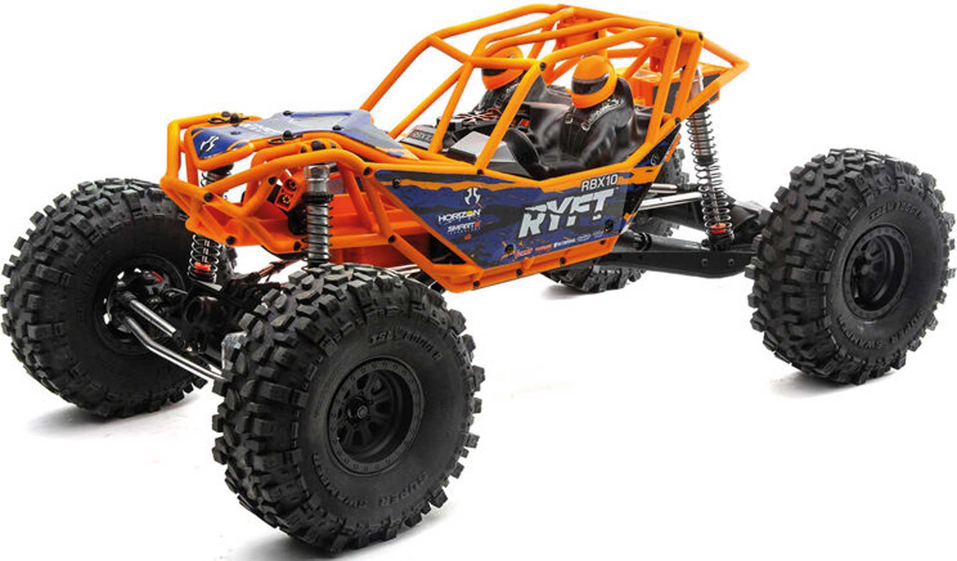 AXIAL RBX10 Ryft 1/10 4WD RTR Orange